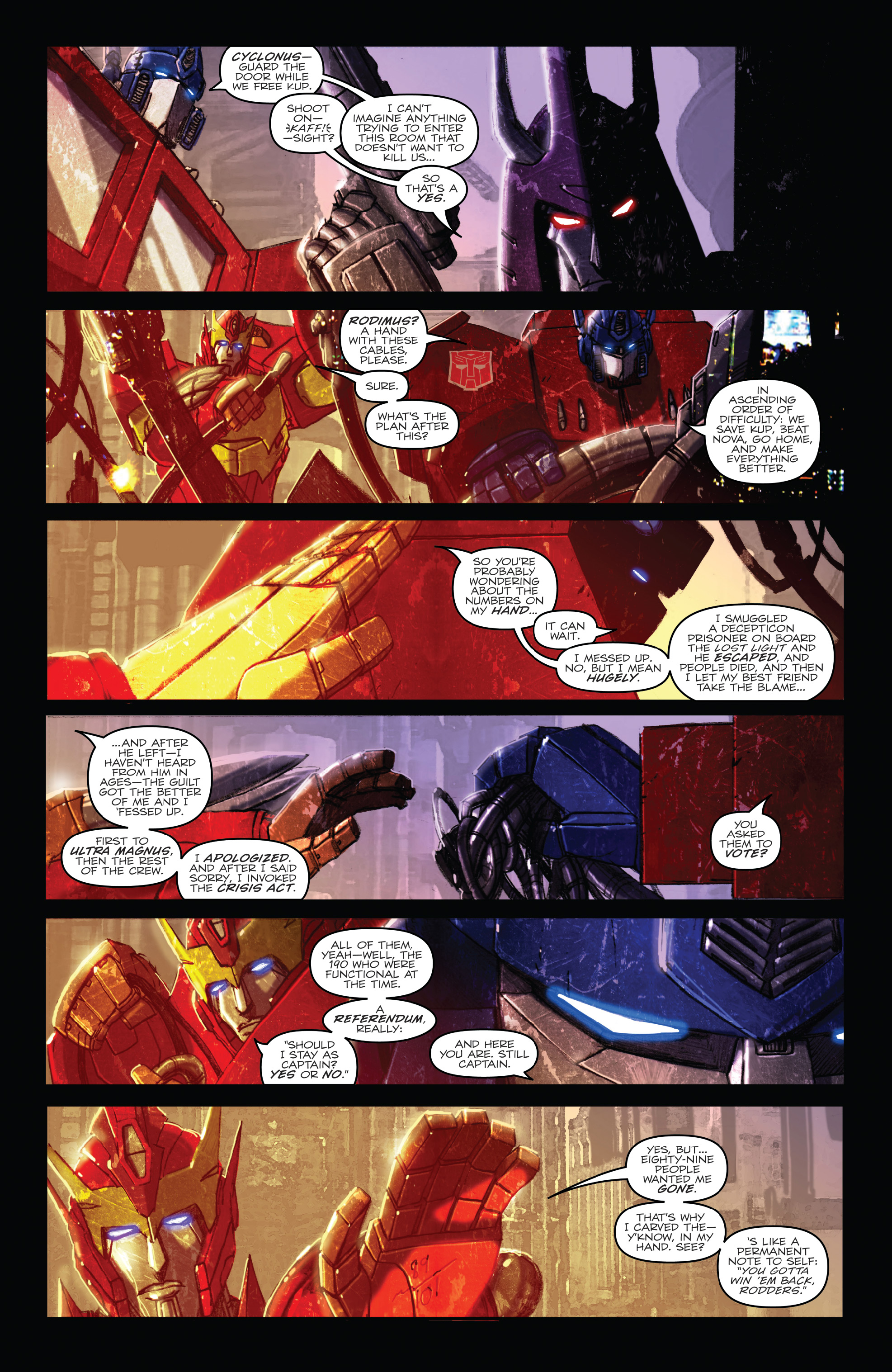 Read online The Transformers: Dark Cybertron Finale comic -  Issue # Full - 39