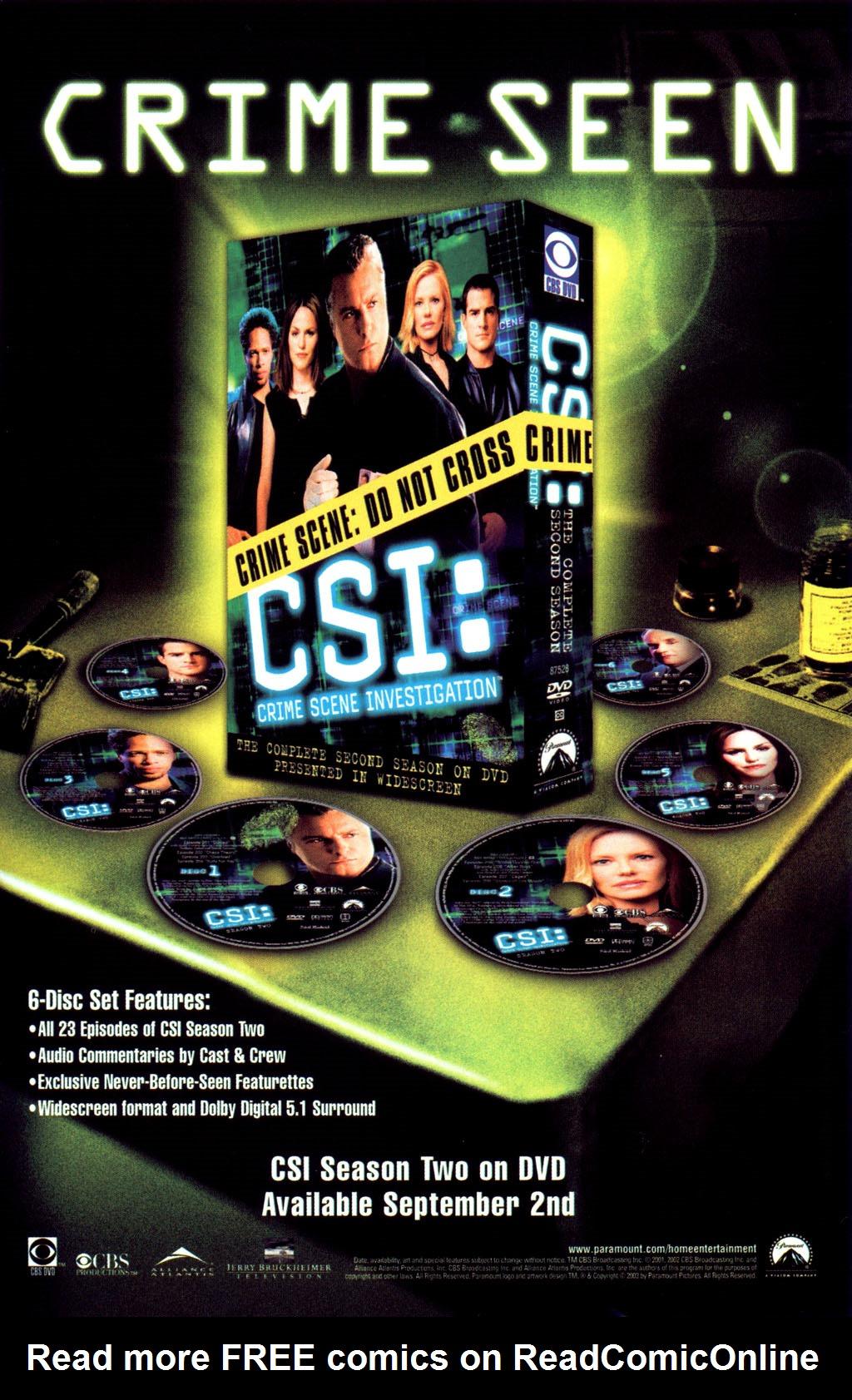 Read online CSI: Crime Scene Investigation: Bad Rap comic -  Issue #4 - 32
