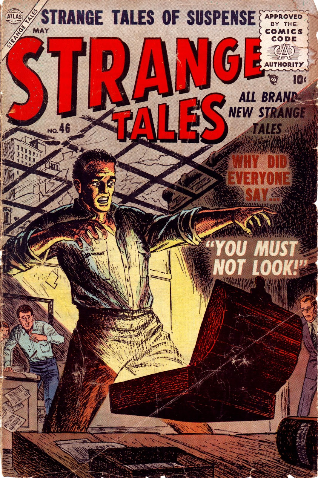 Strange Tales (1951) issue 46 - Page 1