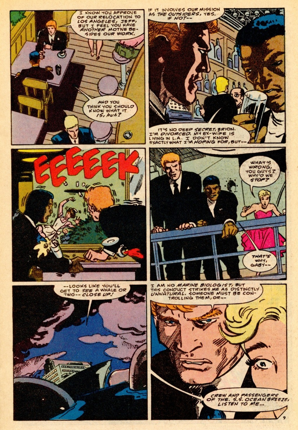 Read online Adventures of the Outsiders comic -  Issue #37 - 10