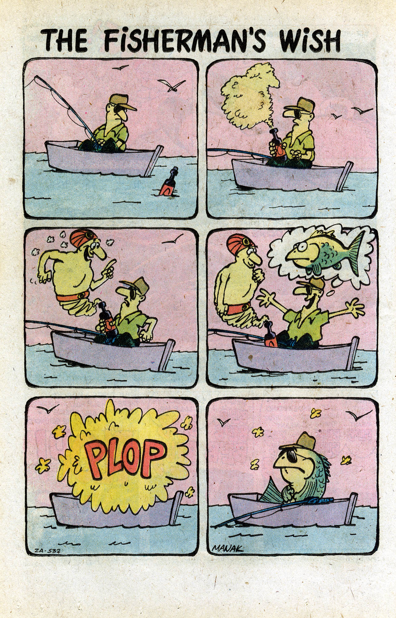 Read online Plop! comic -  Issue #11 - 12