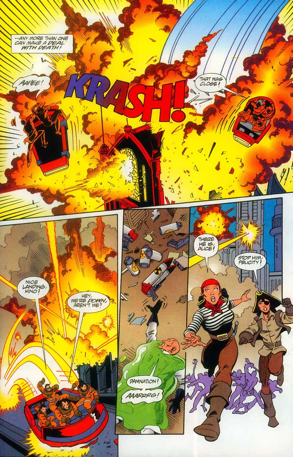 Godzilla (1995) Issue #12 #13 - English 23