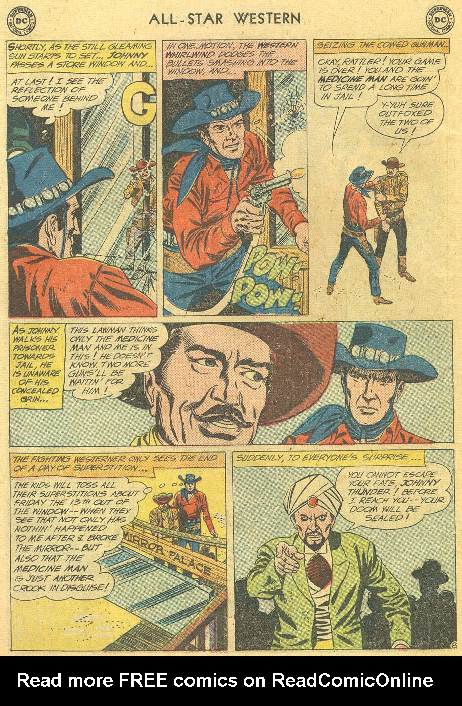 Read online All-Star Western (1951) comic -  Issue #114 - 10