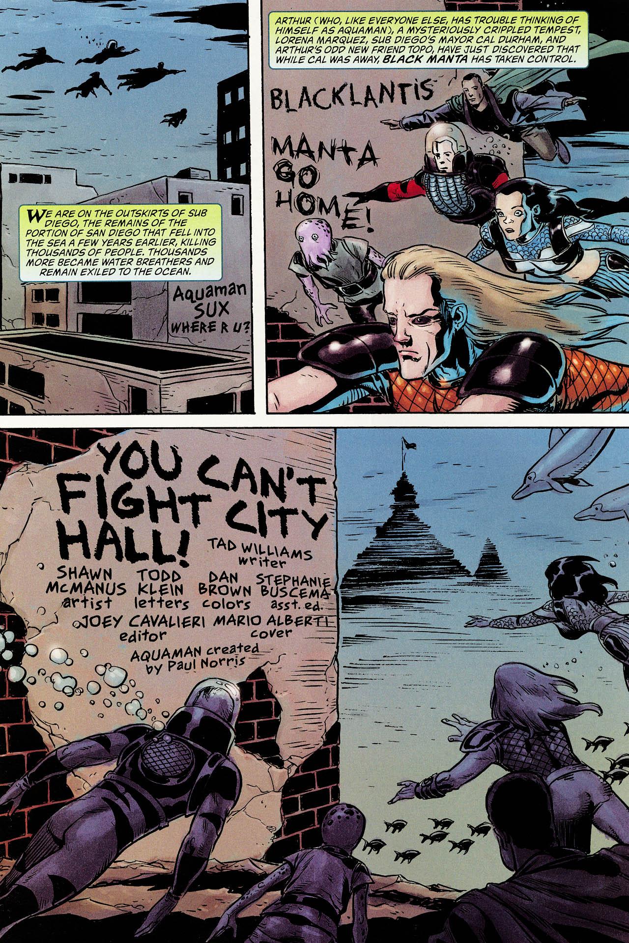 Read online Aquaman: Sword of Atlantis comic -  Issue #52 - 2