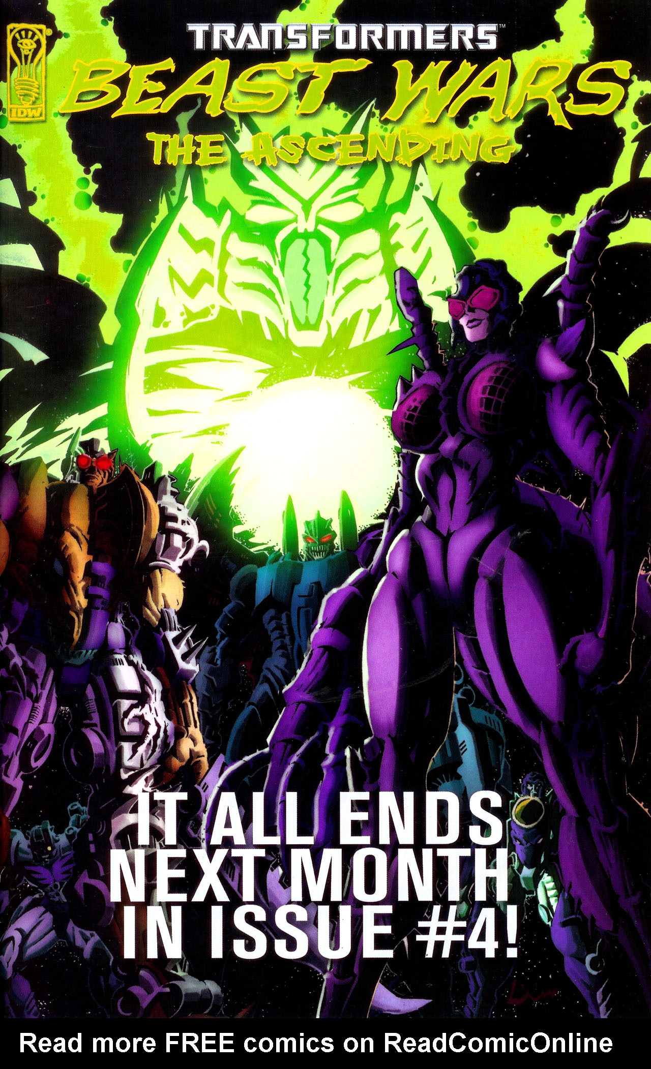 Read online Transformers: Beast Wars: The Ascending comic -  Issue #3 - 26