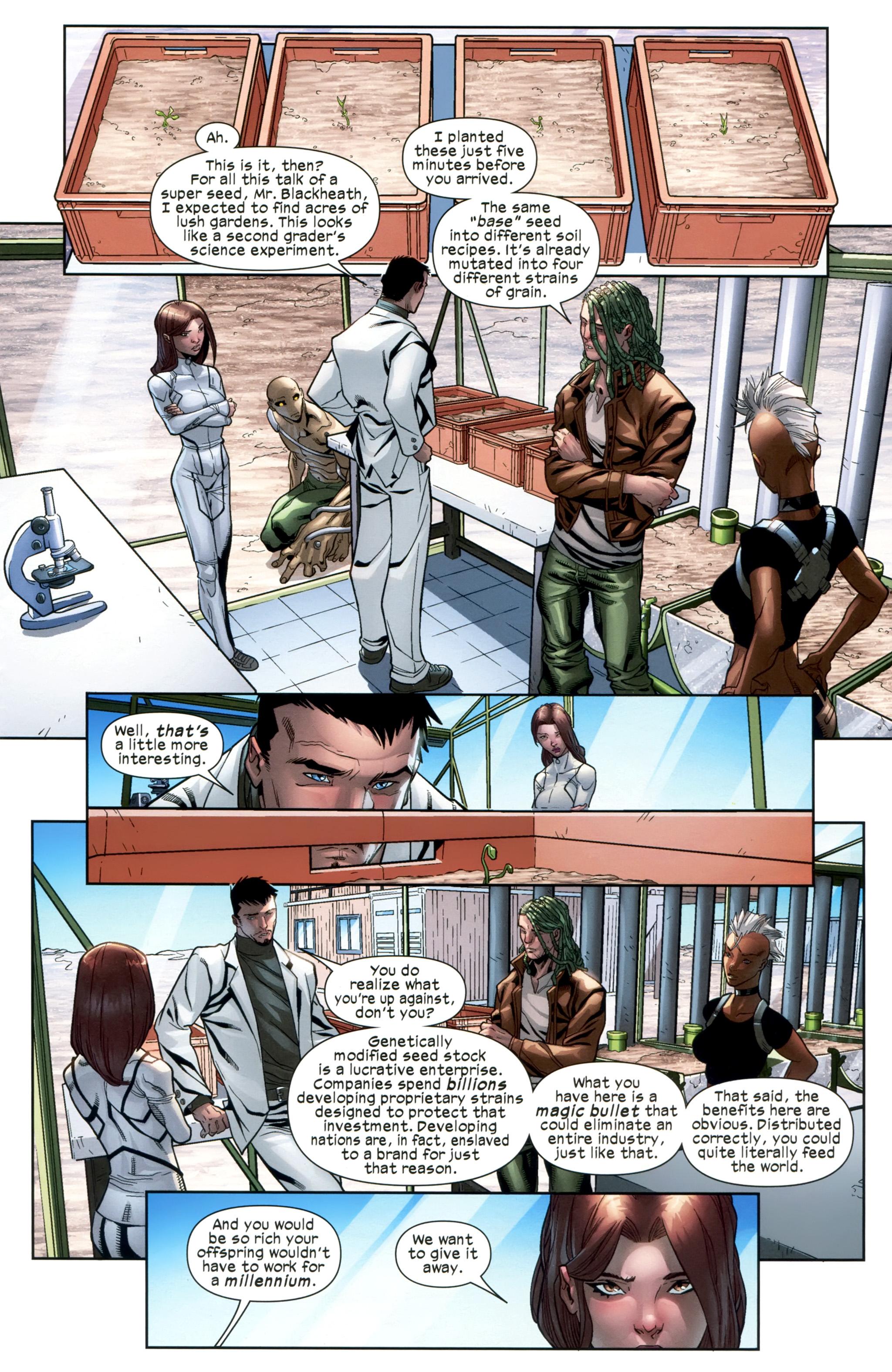 Read online Ultimate Comics X-Men comic -  Issue #20 - 18