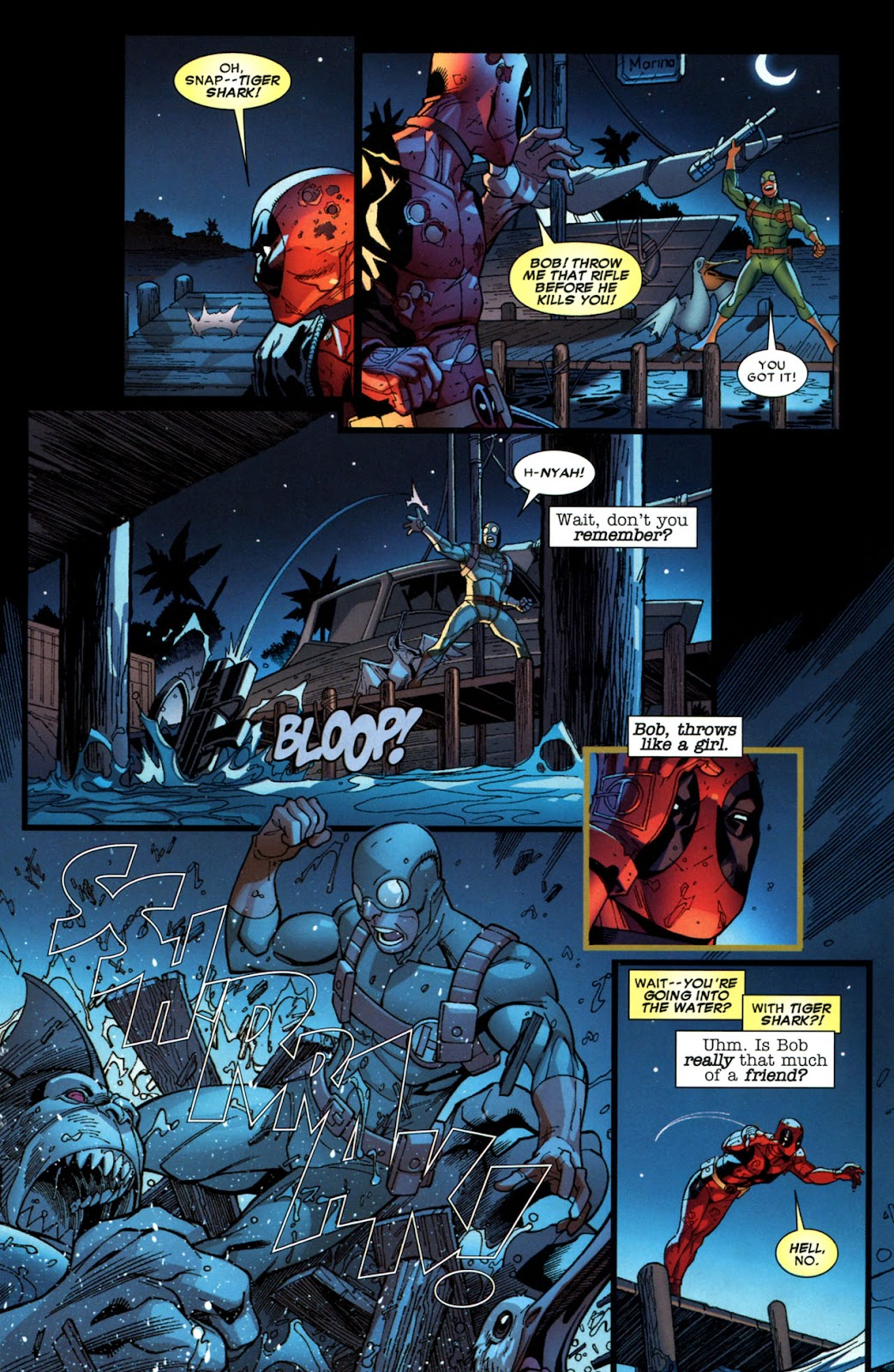 Read online Deadpool (2008) comic -  Issue #6 - 23