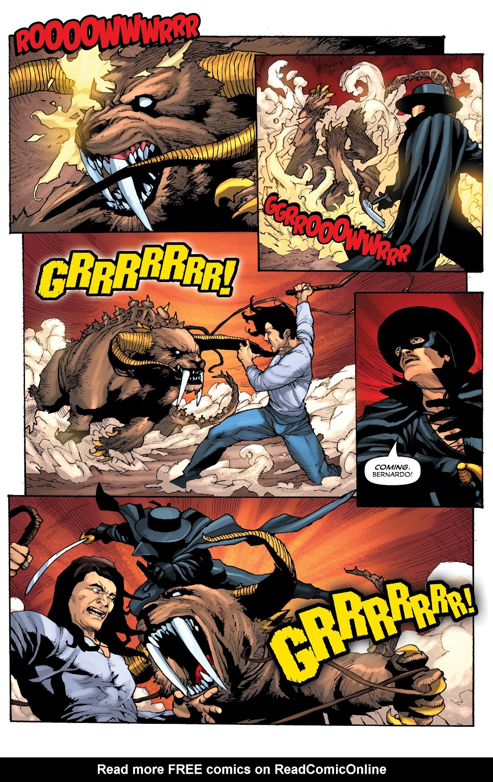 Read online Zorro: Swords of Hell comic -  Issue #3 - 6