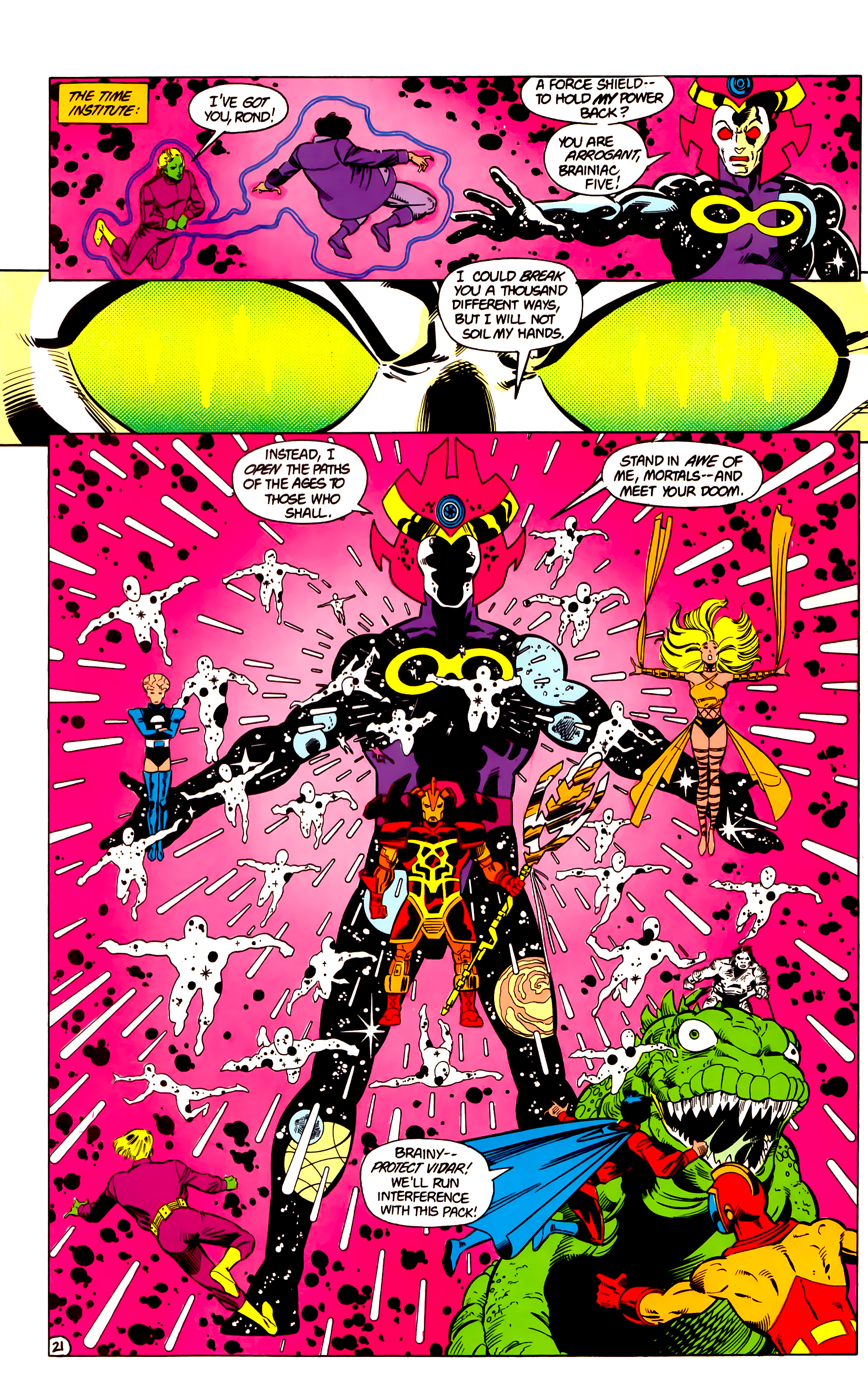 Legion of Super-Heroes (1984) 18 Page 21