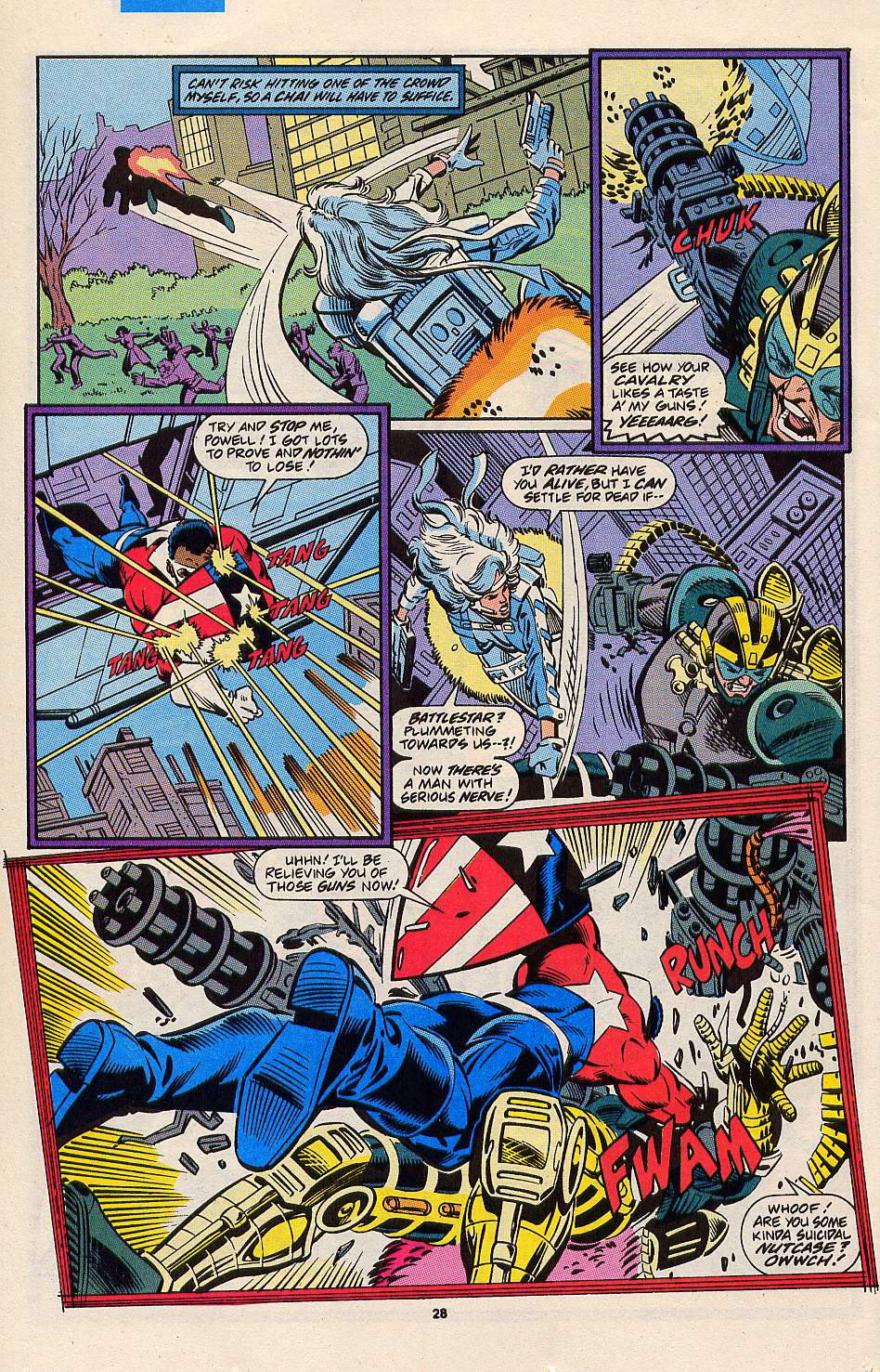 Read online Silver Sable and the Wild Pack comic -  Issue #3 - 22