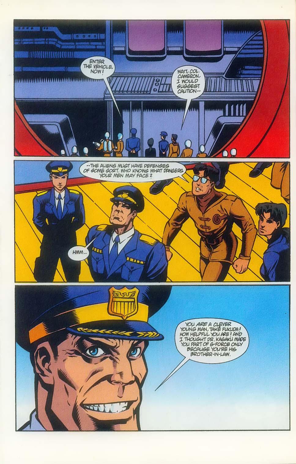 Godzilla (1995) Issue #7 #8 - English 17