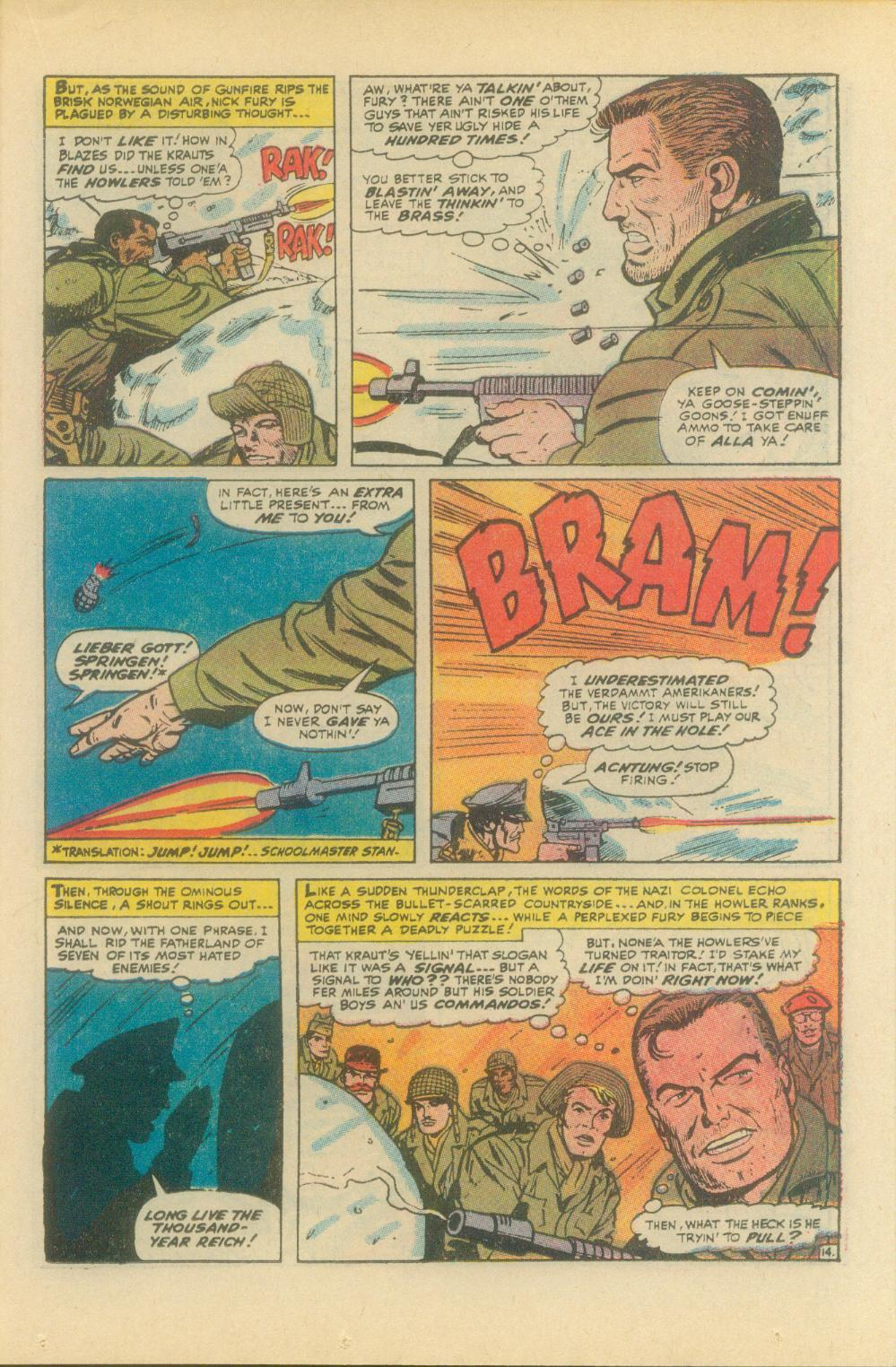 Read online Sgt. Fury comic -  Issue #93 - 23