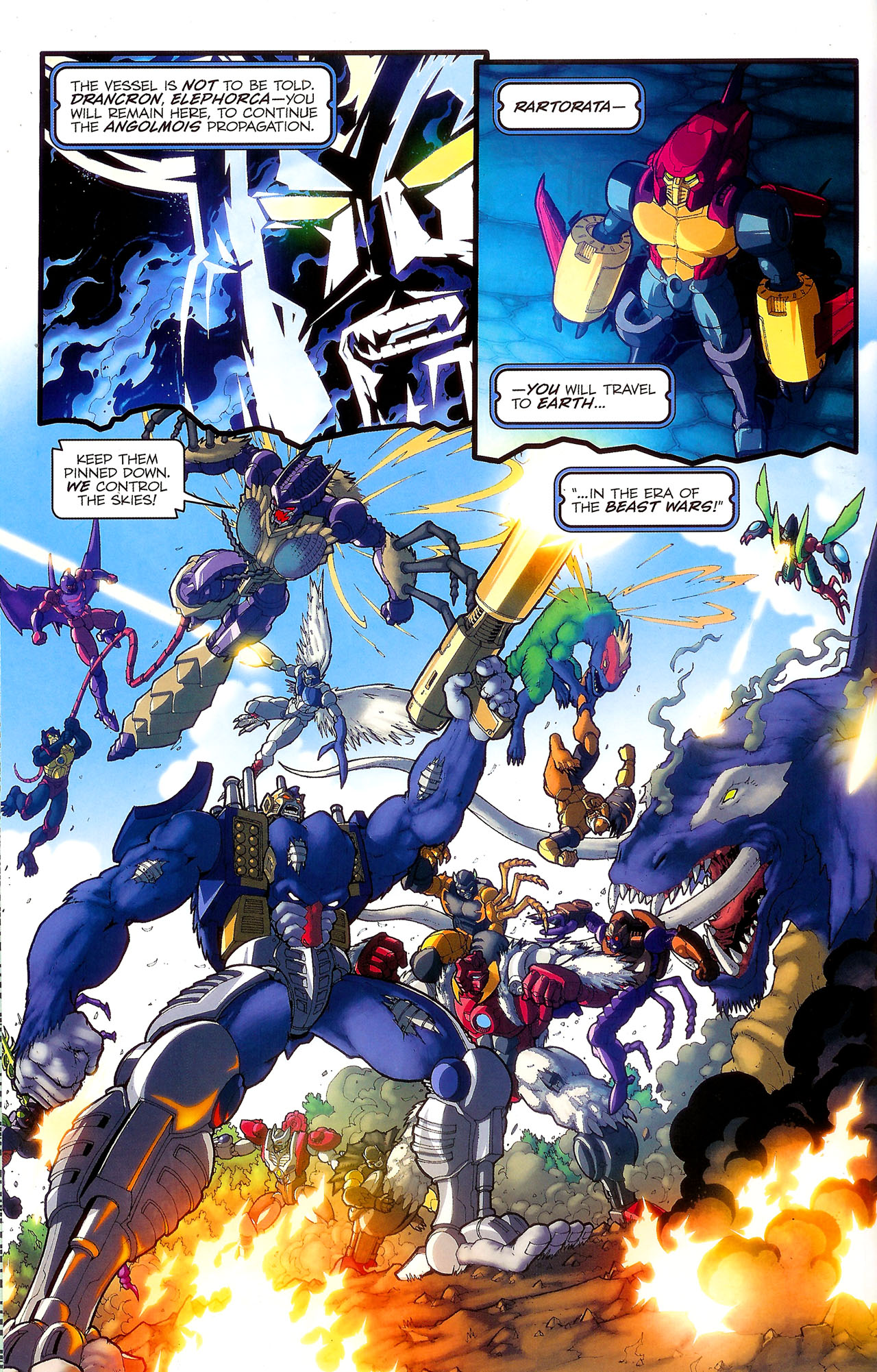 Read online Transformers: Beast Wars: The Ascending comic -  Issue #2 - 5