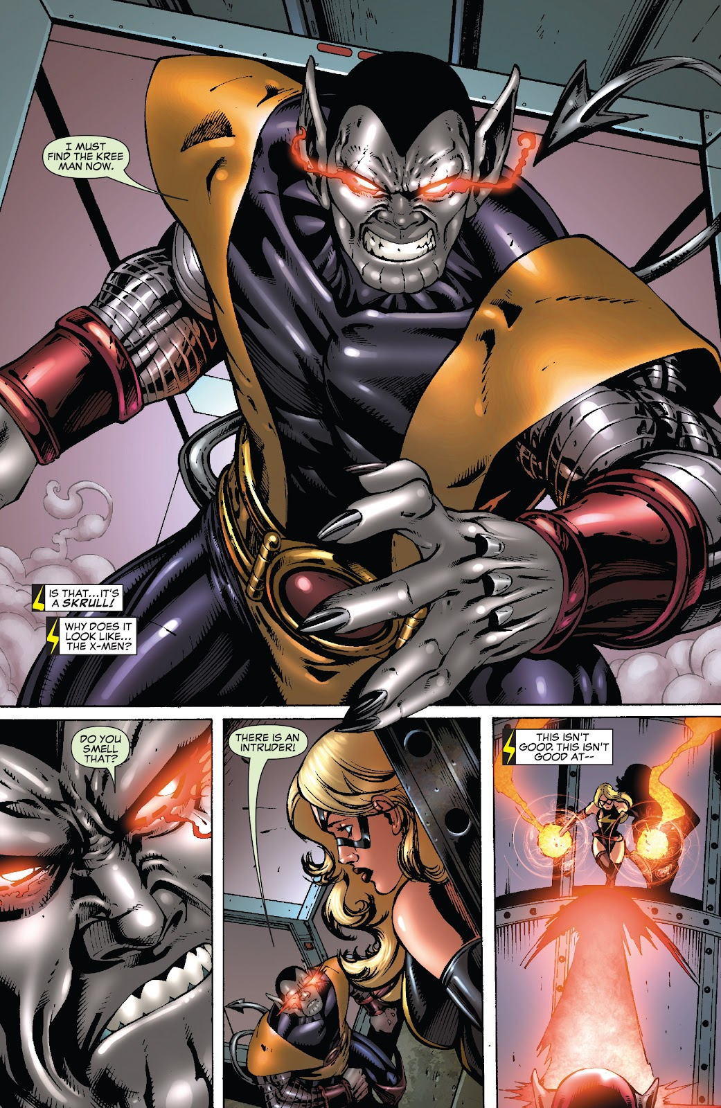 Read online Secret Invasion: Rise of the Skrulls comic -  Issue # TPB (Part 5) - 3