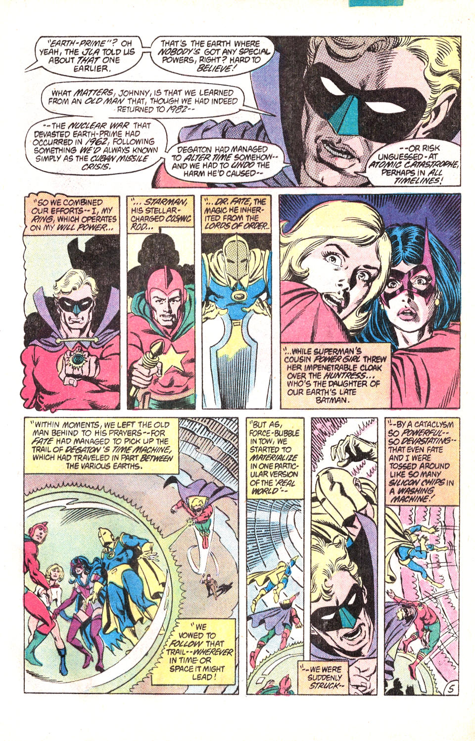 Read online All-Star Squadron comic -  Issue #15 - 8