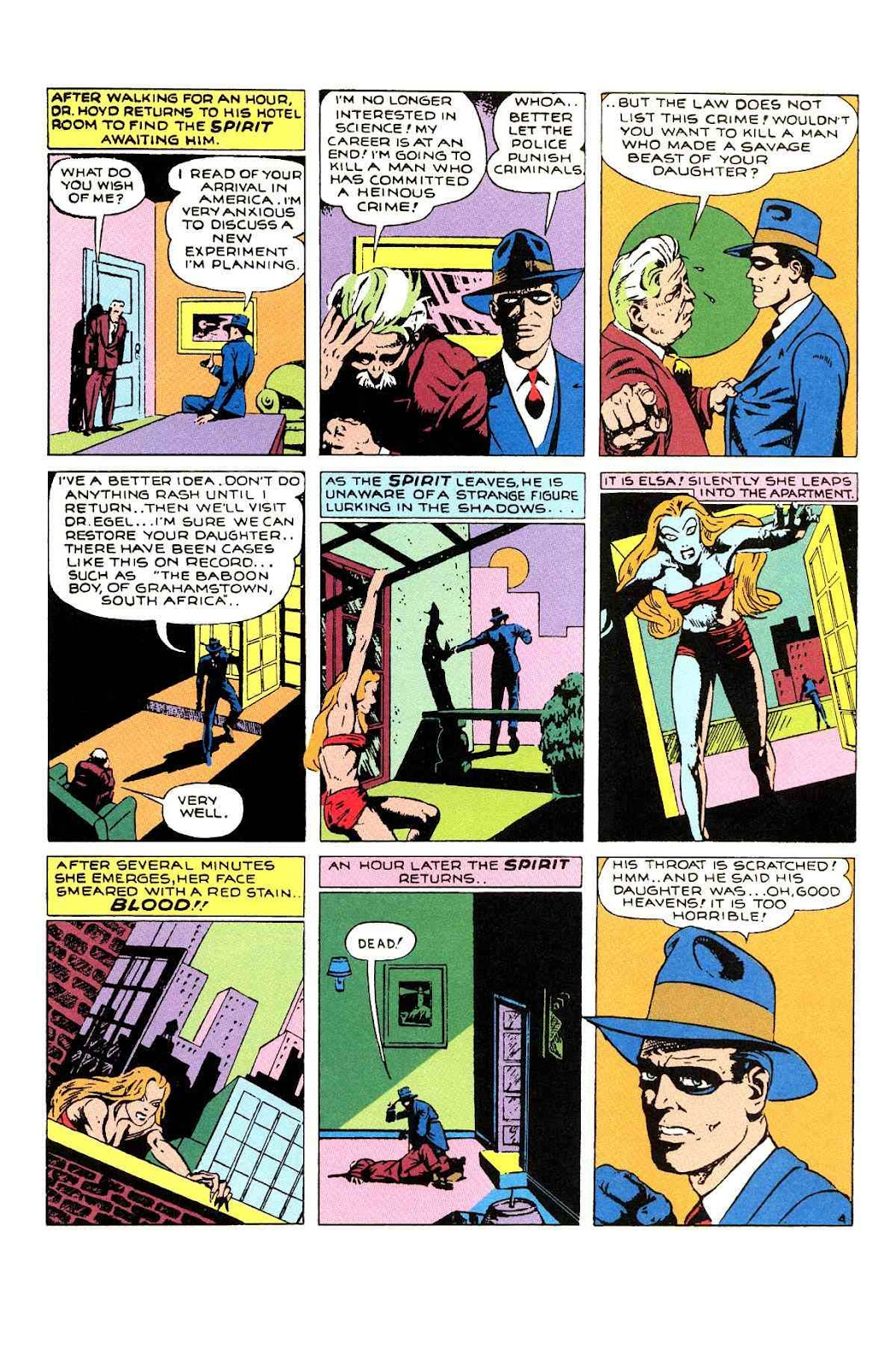 Read online Will Eisner's The Spirit Archives comic -  Issue # TPB 1 (Part 1) - 96