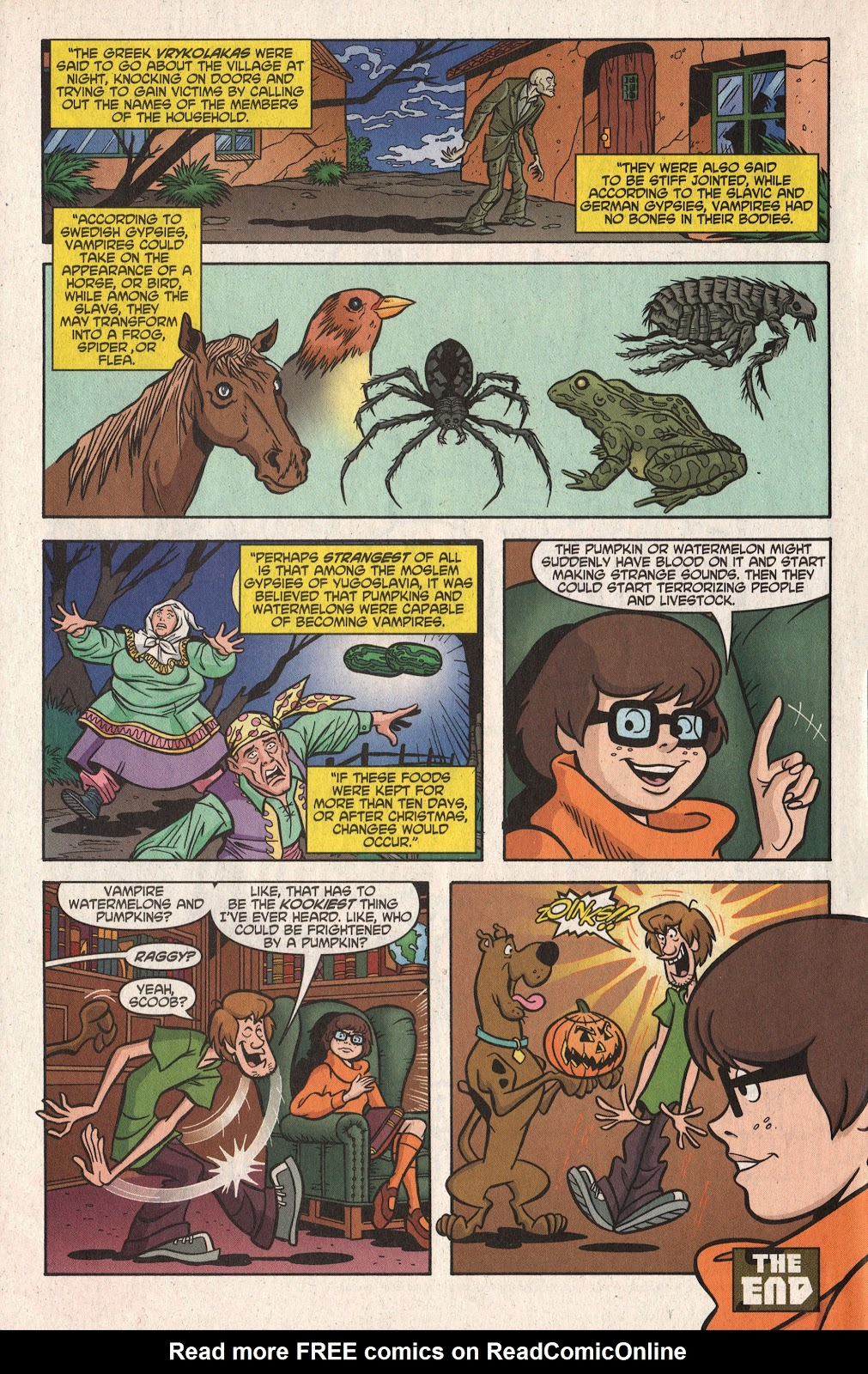 Read online Scooby-Doo (1997) comic -  Issue #101 - 36