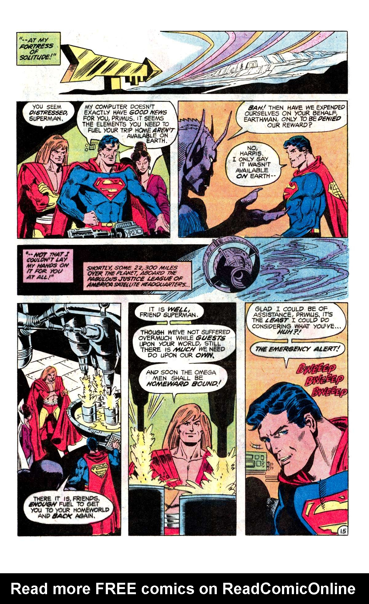 Read online Action Comics (1938) comic -  Issue #536 - 16
