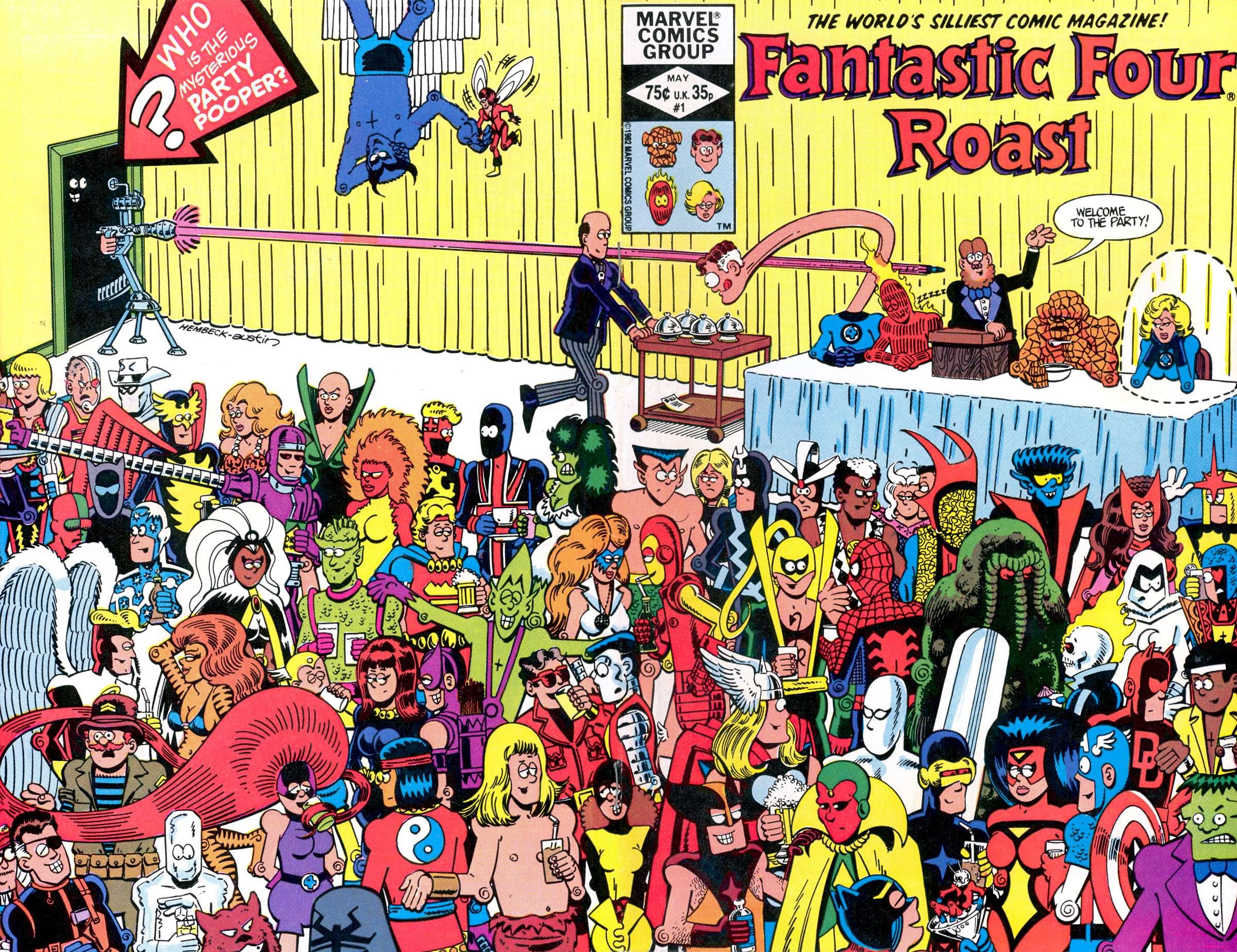 Fantastic Four Roast Full Page 1
