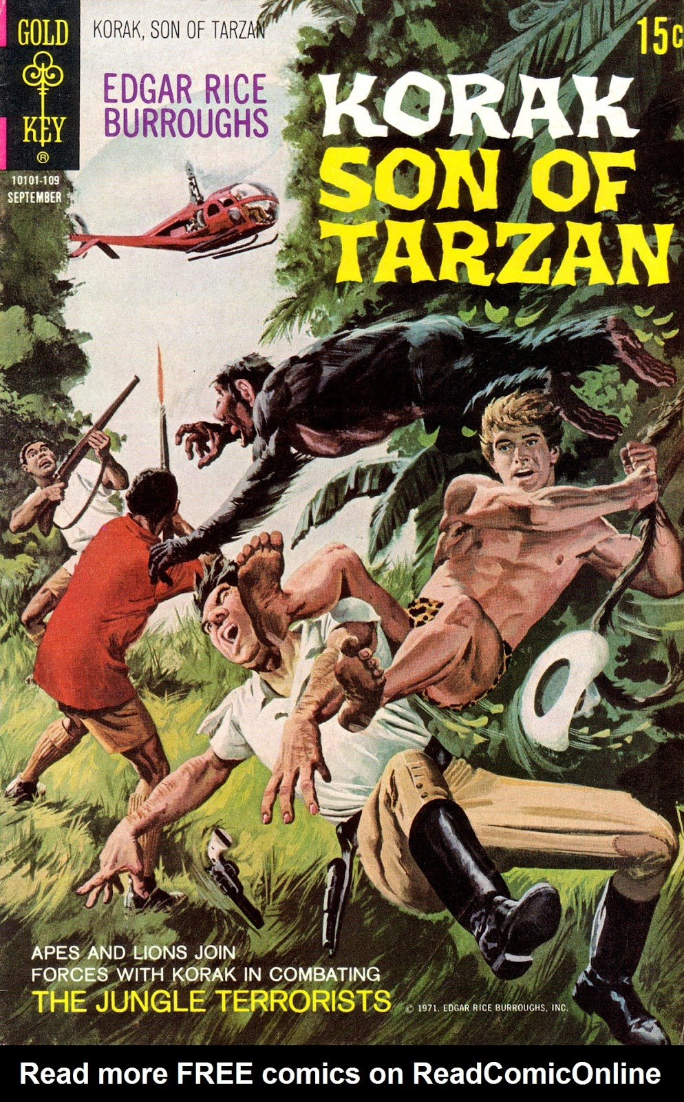 Korak, Son of Tarzan (1964) issue 43 - Page 1