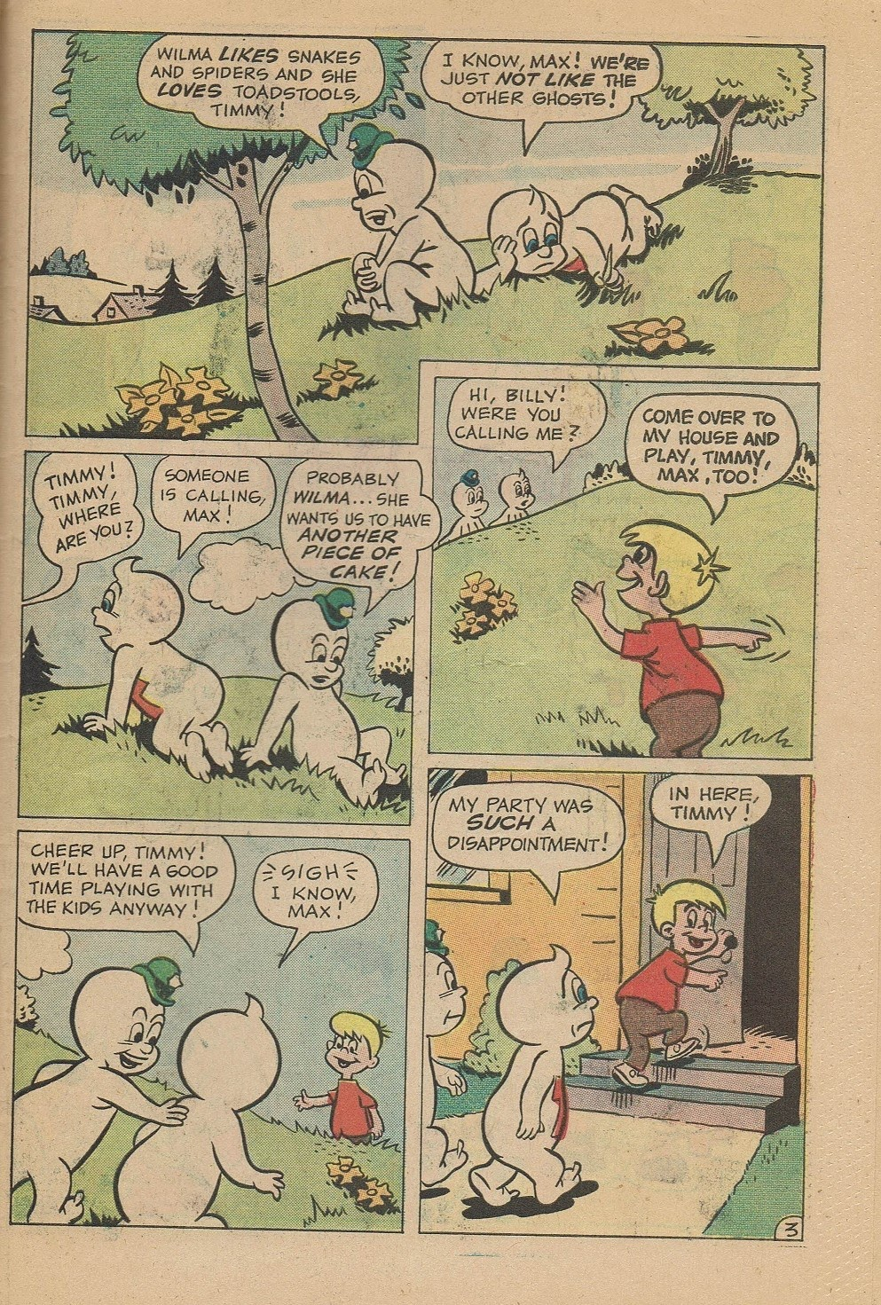 Read online Timmy the Timid Ghost comic -  Issue #21 - 31