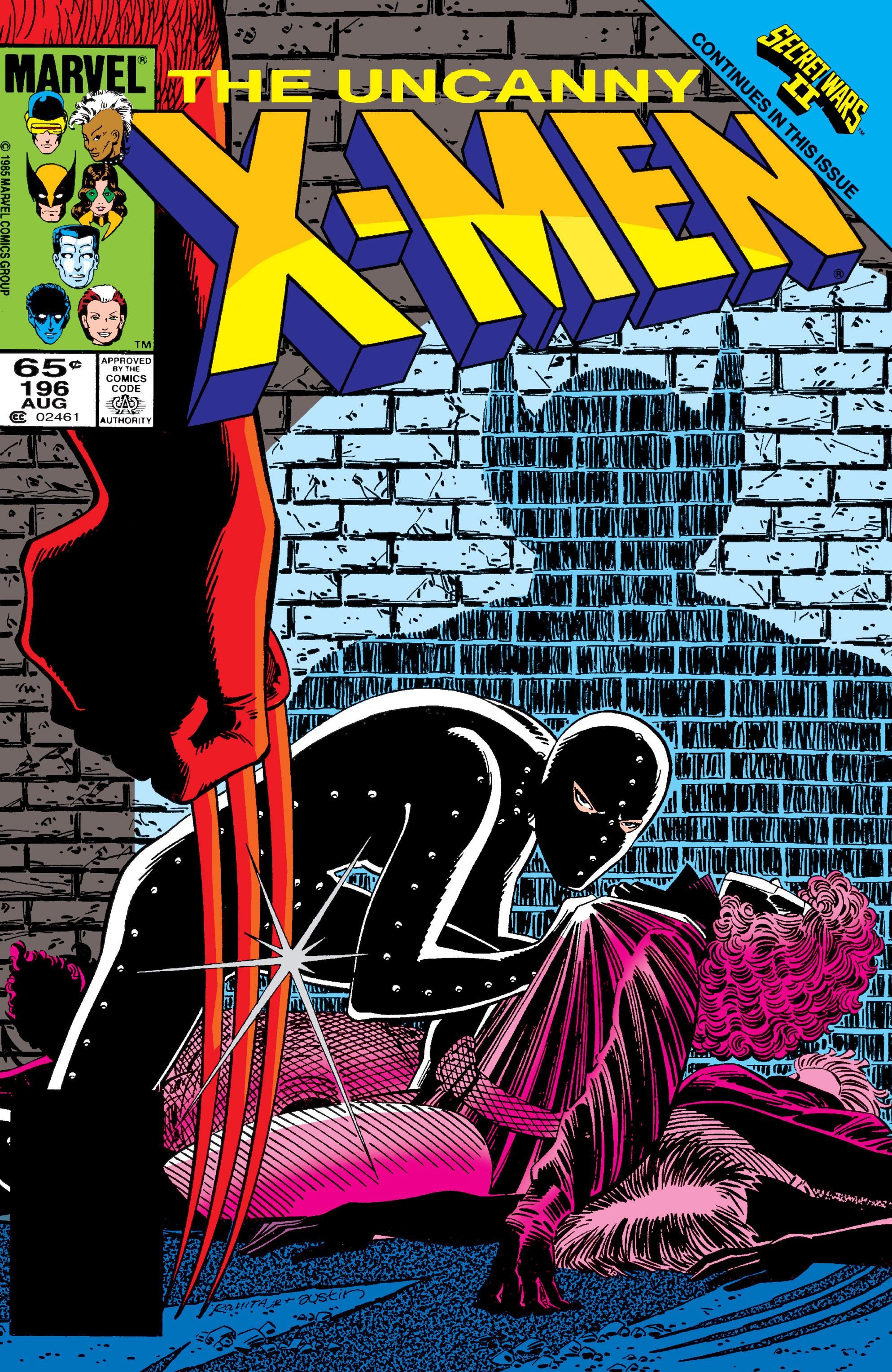 Uncanny X-Men (1963) 196 Page 1