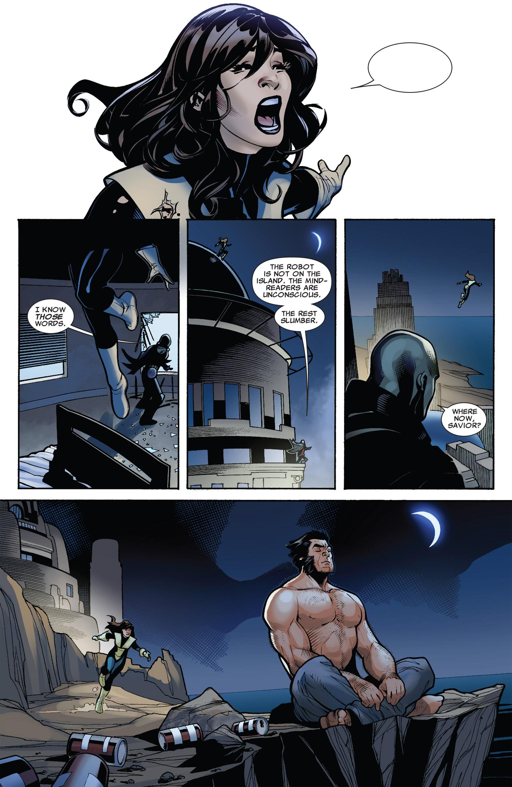 Read online Uncanny X-Men (1963) comic -  Issue #537 - 18
