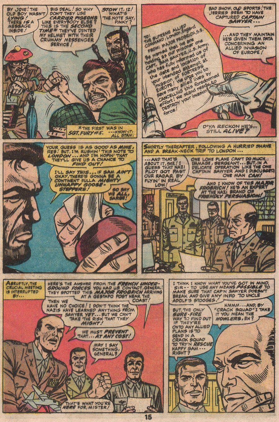 Read online Sgt. Fury comic -  Issue #133 - 17