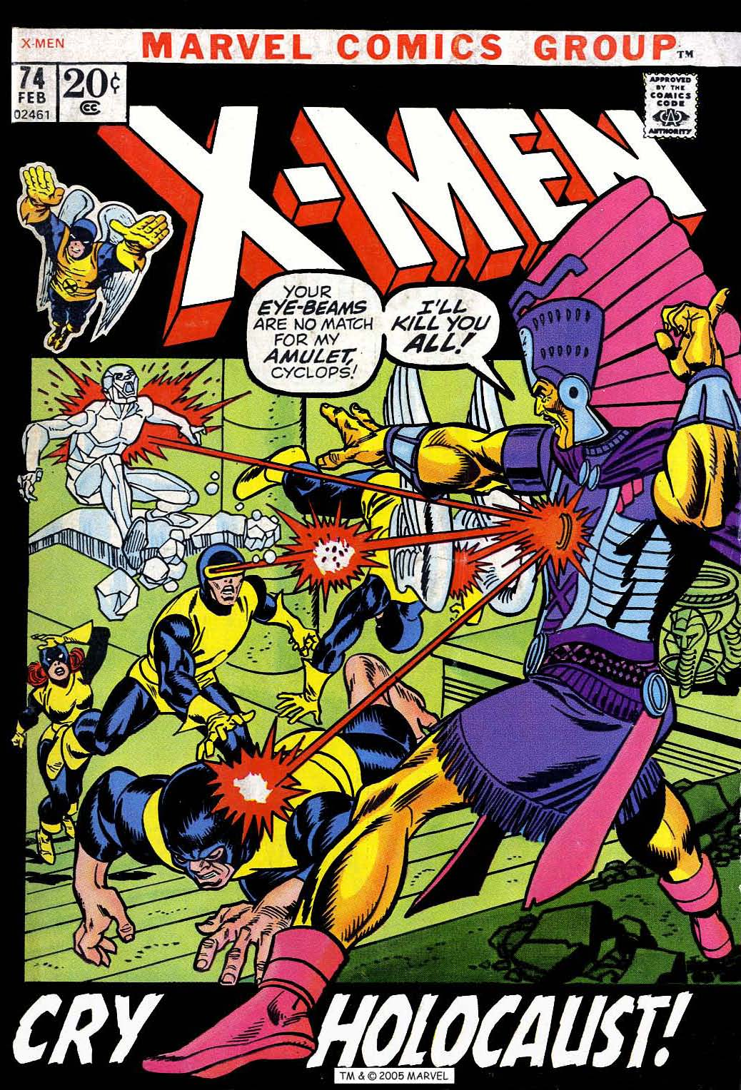 Read online Uncanny X-Men (1963) comic -  Issue #74 - 1