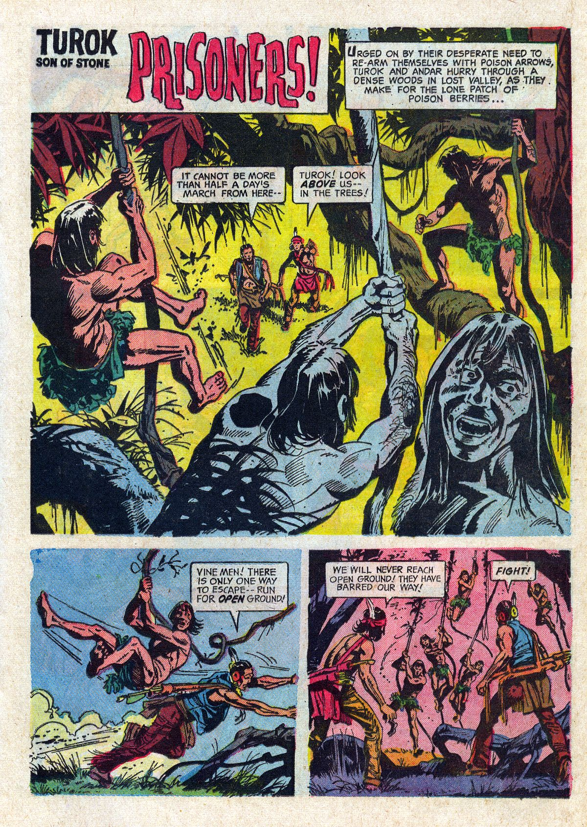 Read online Turok, Son of Stone comic -  Issue #61 - 21