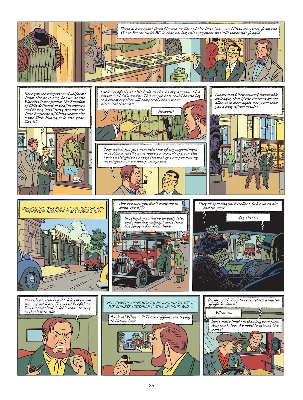 Read online Blake & Mortimer comic -  Issue #25 - 27