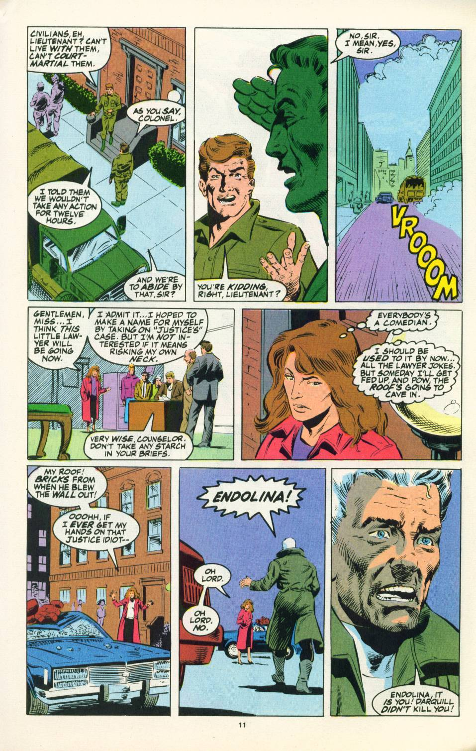 Read online Justice (1986) comic -  Issue #22 - 12