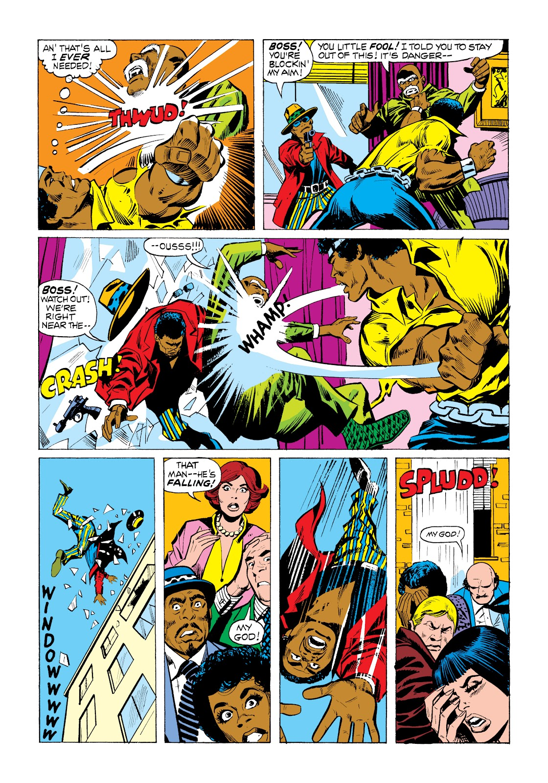 Read online Marvel Masterworks: Luke Cage, Power Man comic -  Issue # TPB 2 (Part 1) - 84