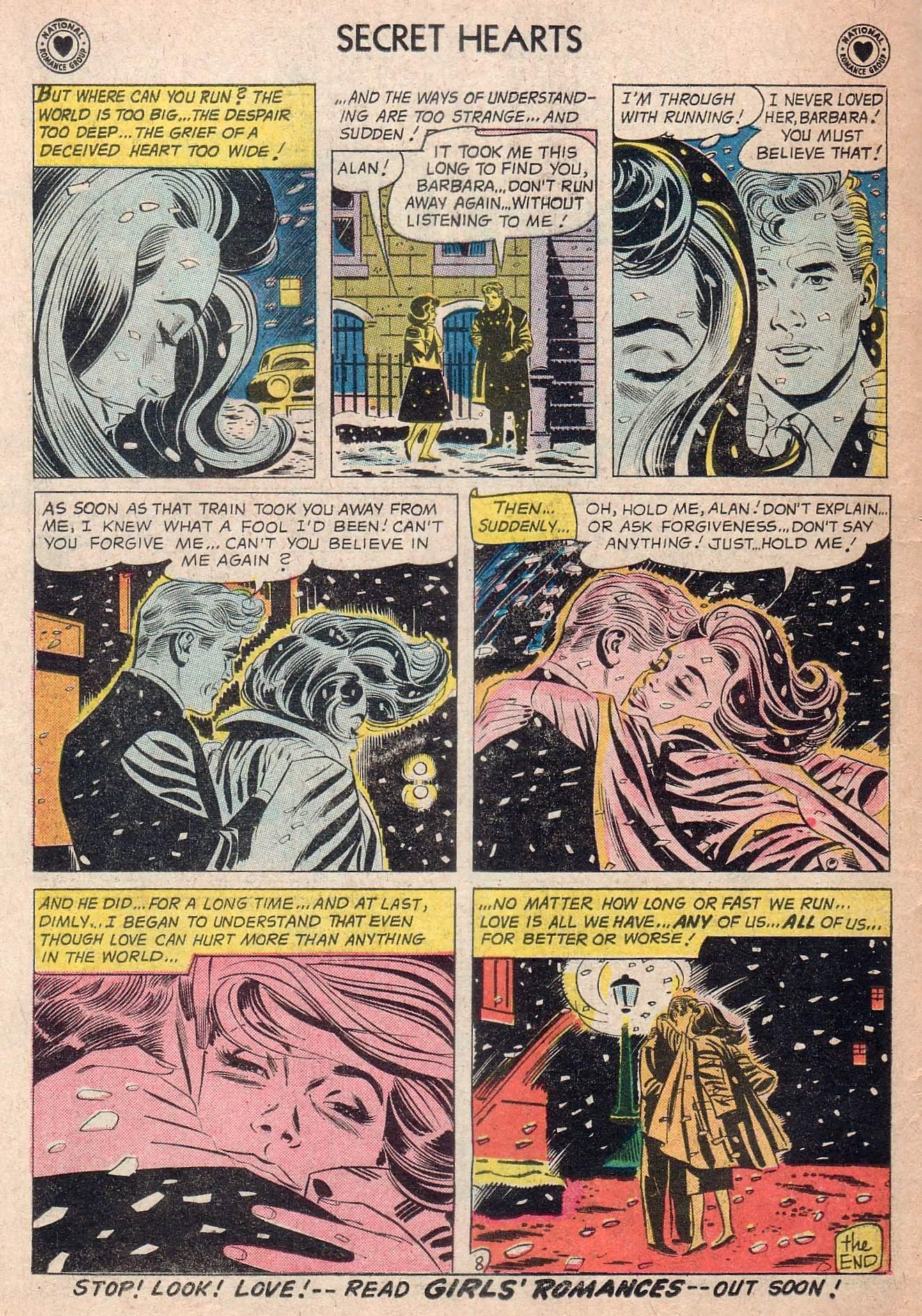 Read online Secret Hearts comic -  Issue #73 - 10