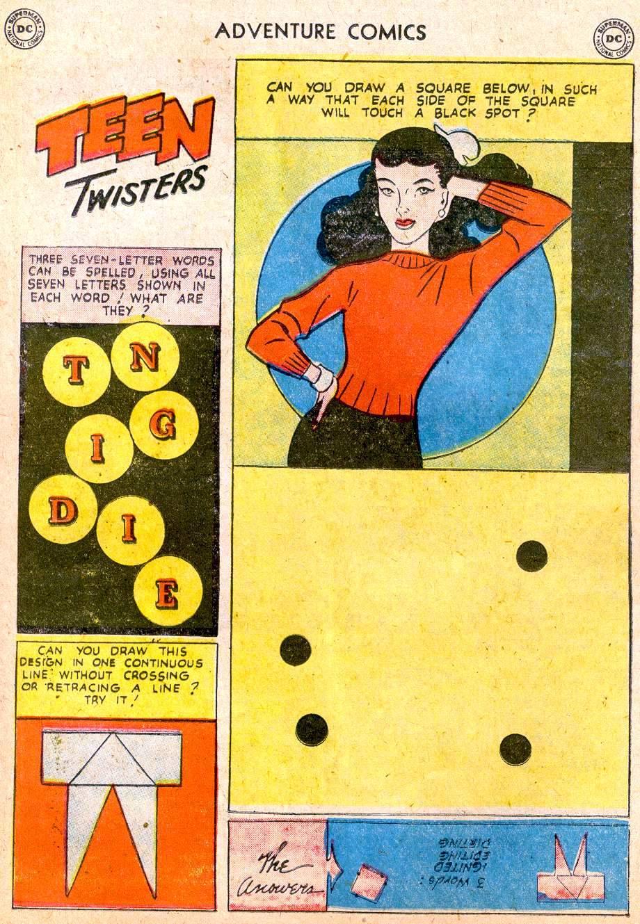 Read online Adventure Comics (1938) comic -  Issue #250 - 17
