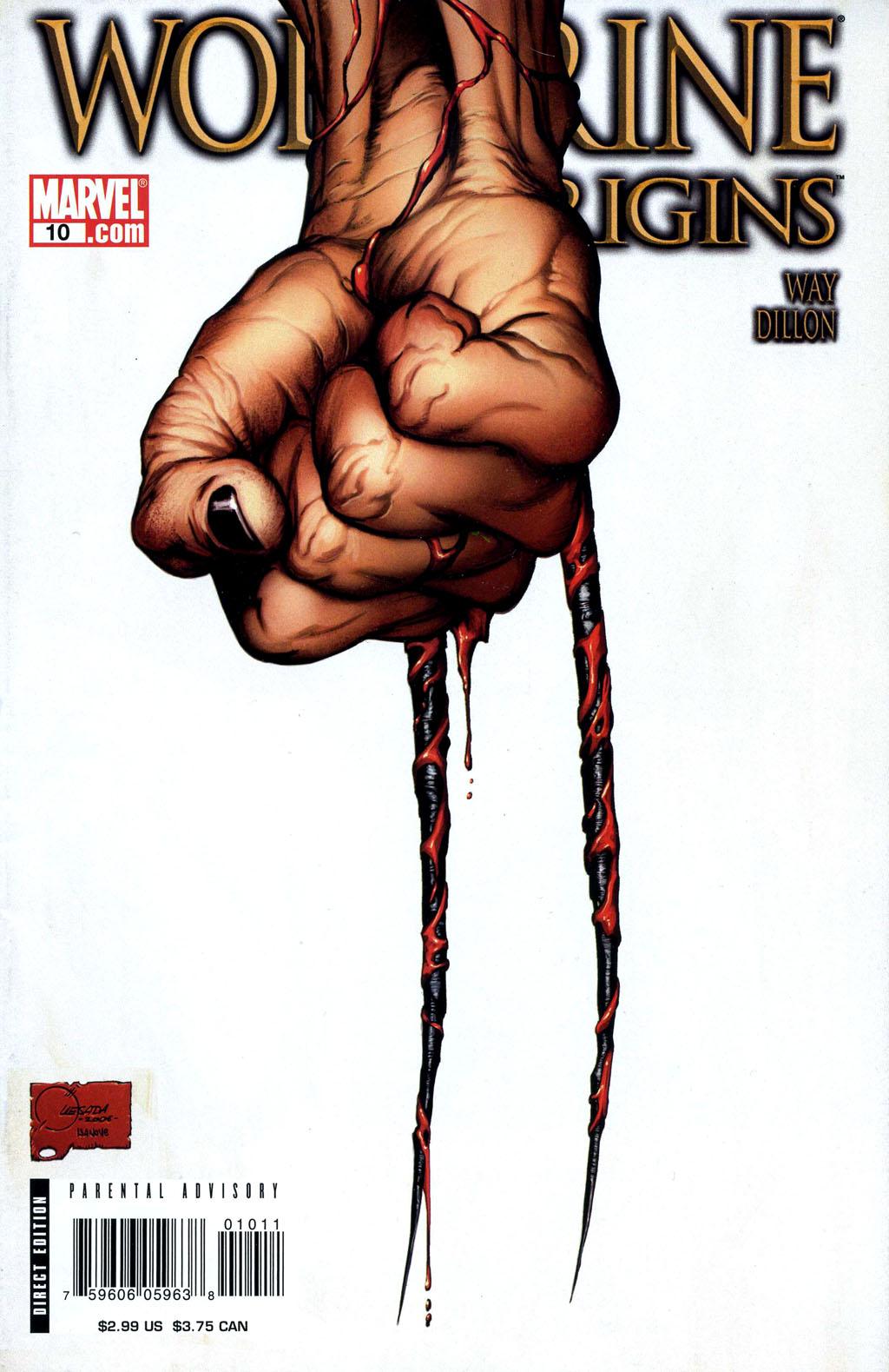 Read online Wolverine: Origins comic -  Issue #10 - 1