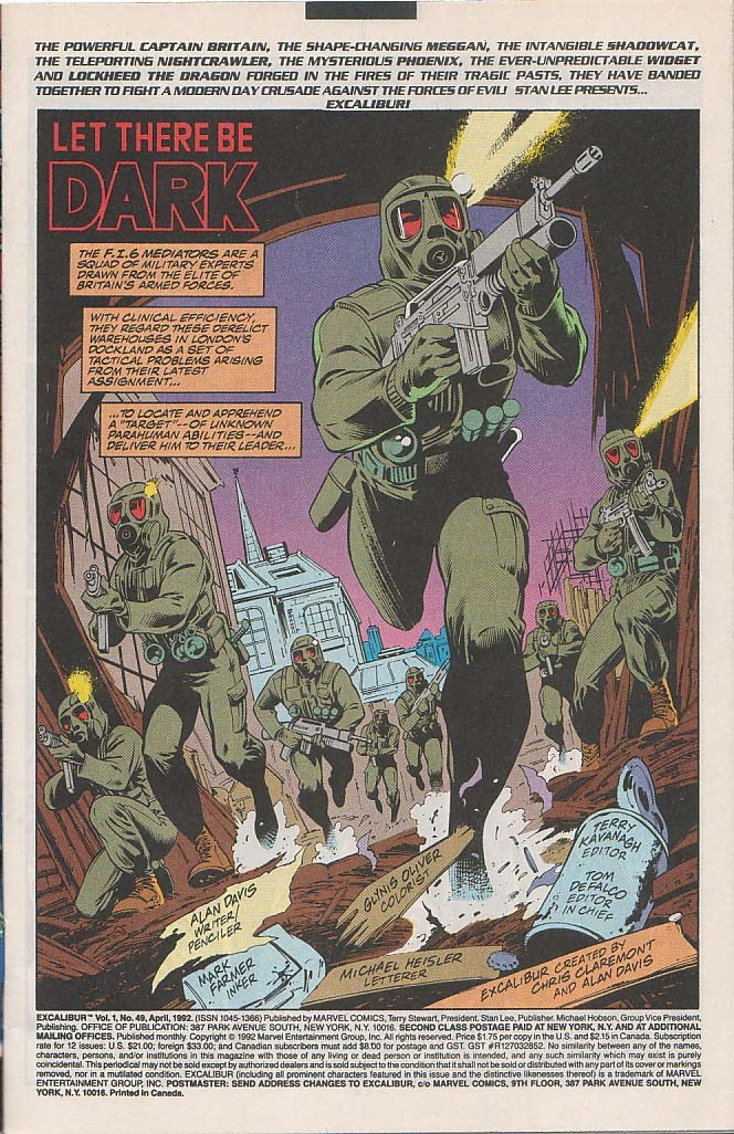 Excalibur (1988) issue 49 - Page 2