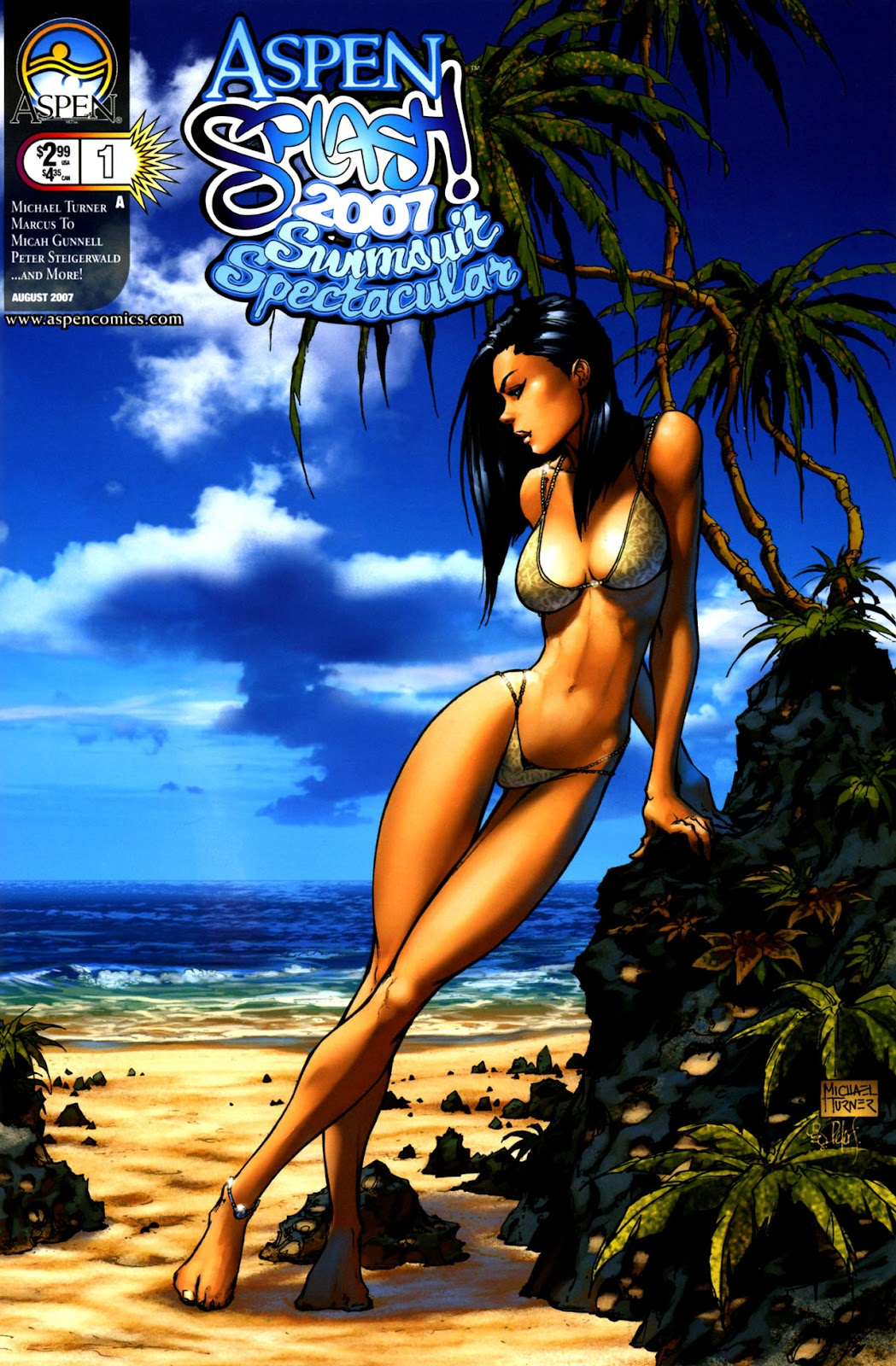 Read online Aspen Splash: Swimsuit Spectacular comic -  Issue # Issue 2007 - 1
