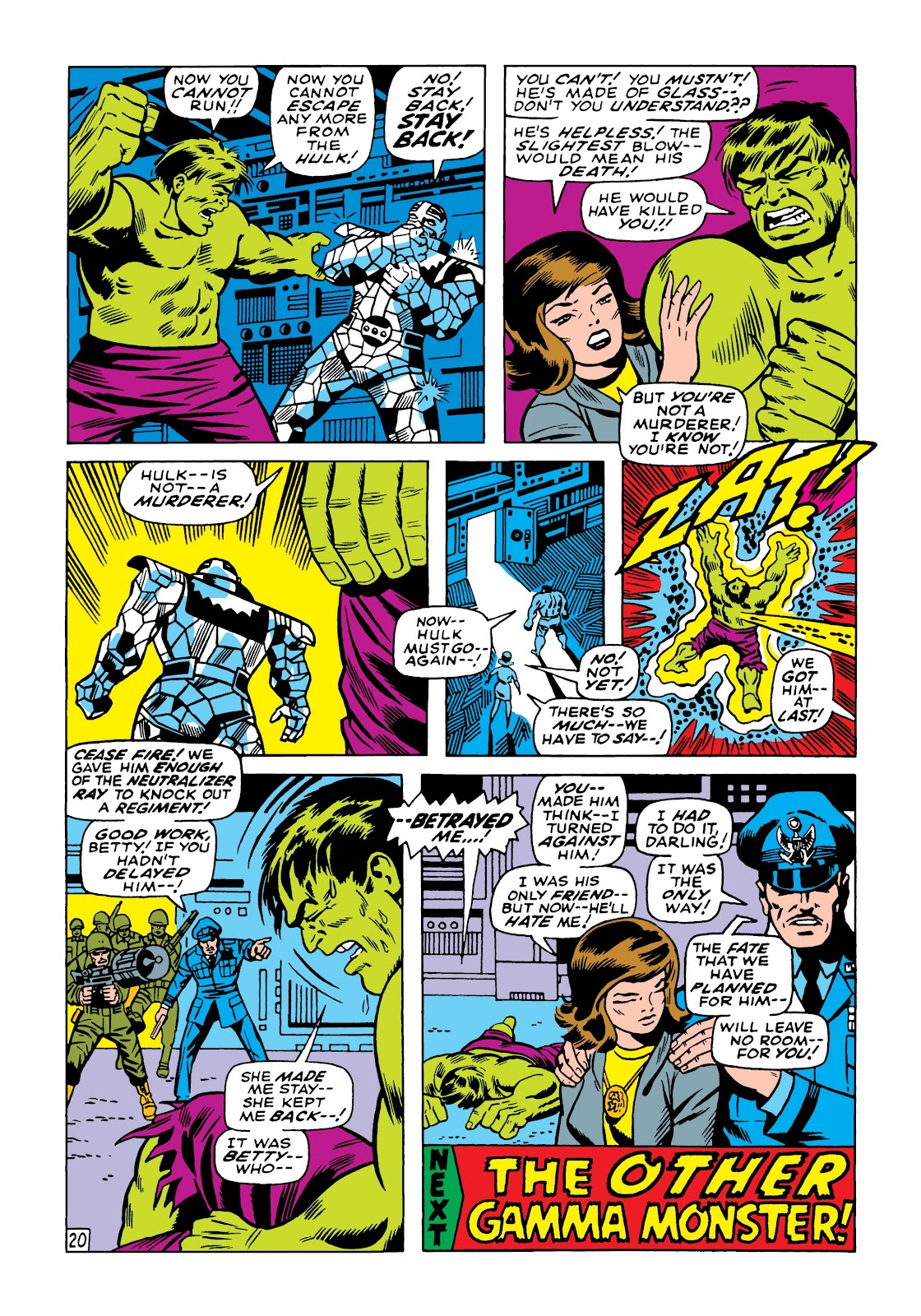Read online Marvel Masterworks: The Incredible Hulk comic -  Issue # TPB 5 (Part 1) - 89