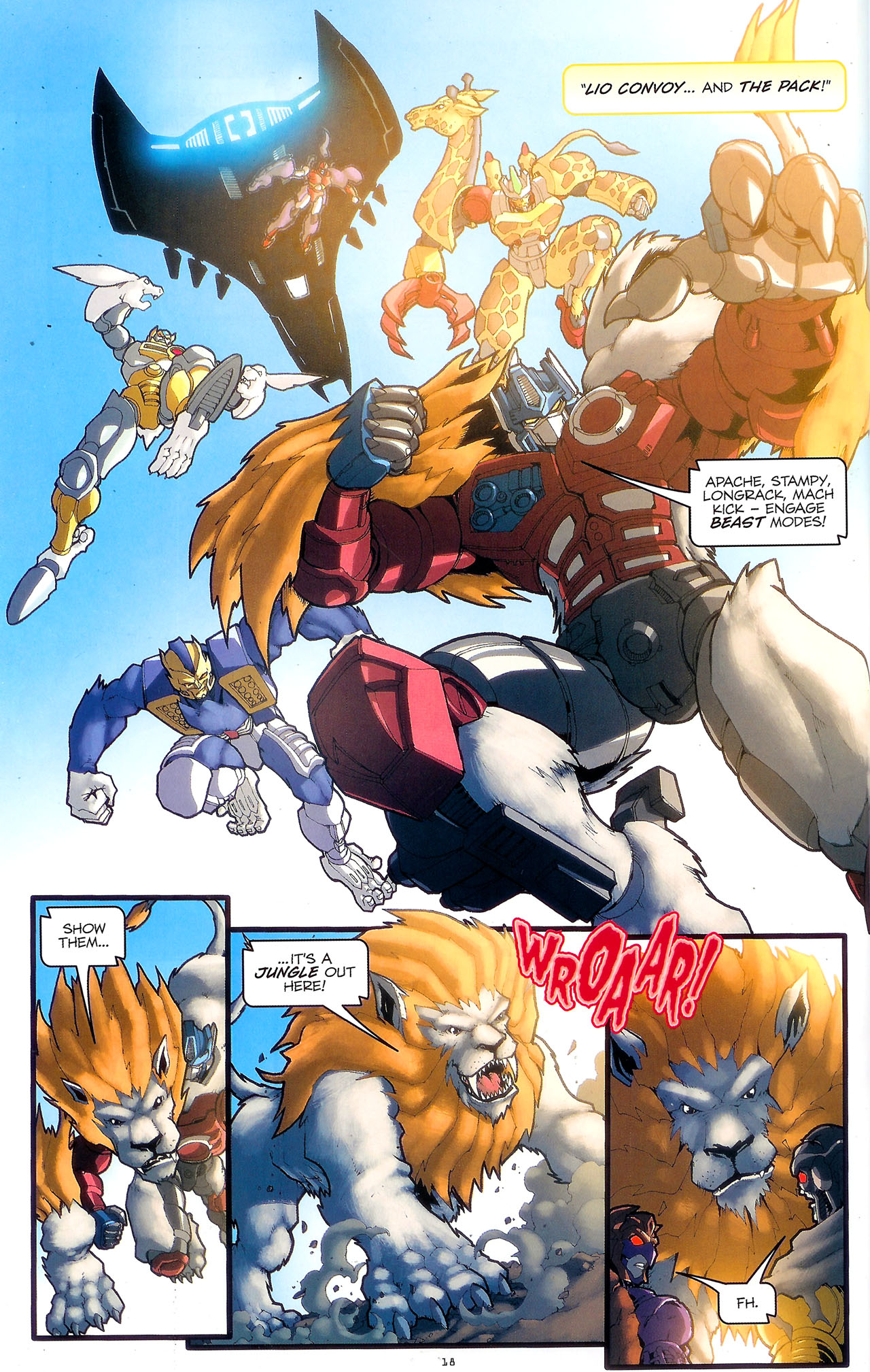 Read online Transformers: Beast Wars: The Ascending comic -  Issue #2 - 21