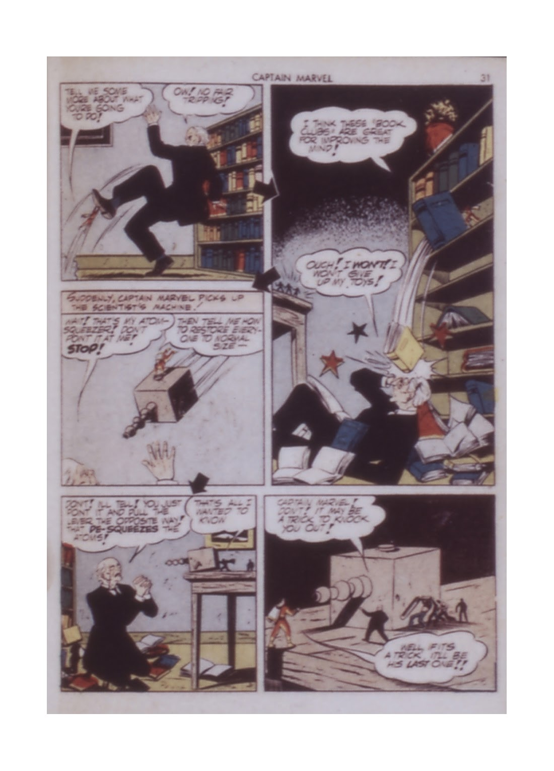 Captain Marvel Adventures issue 14 - Page 31