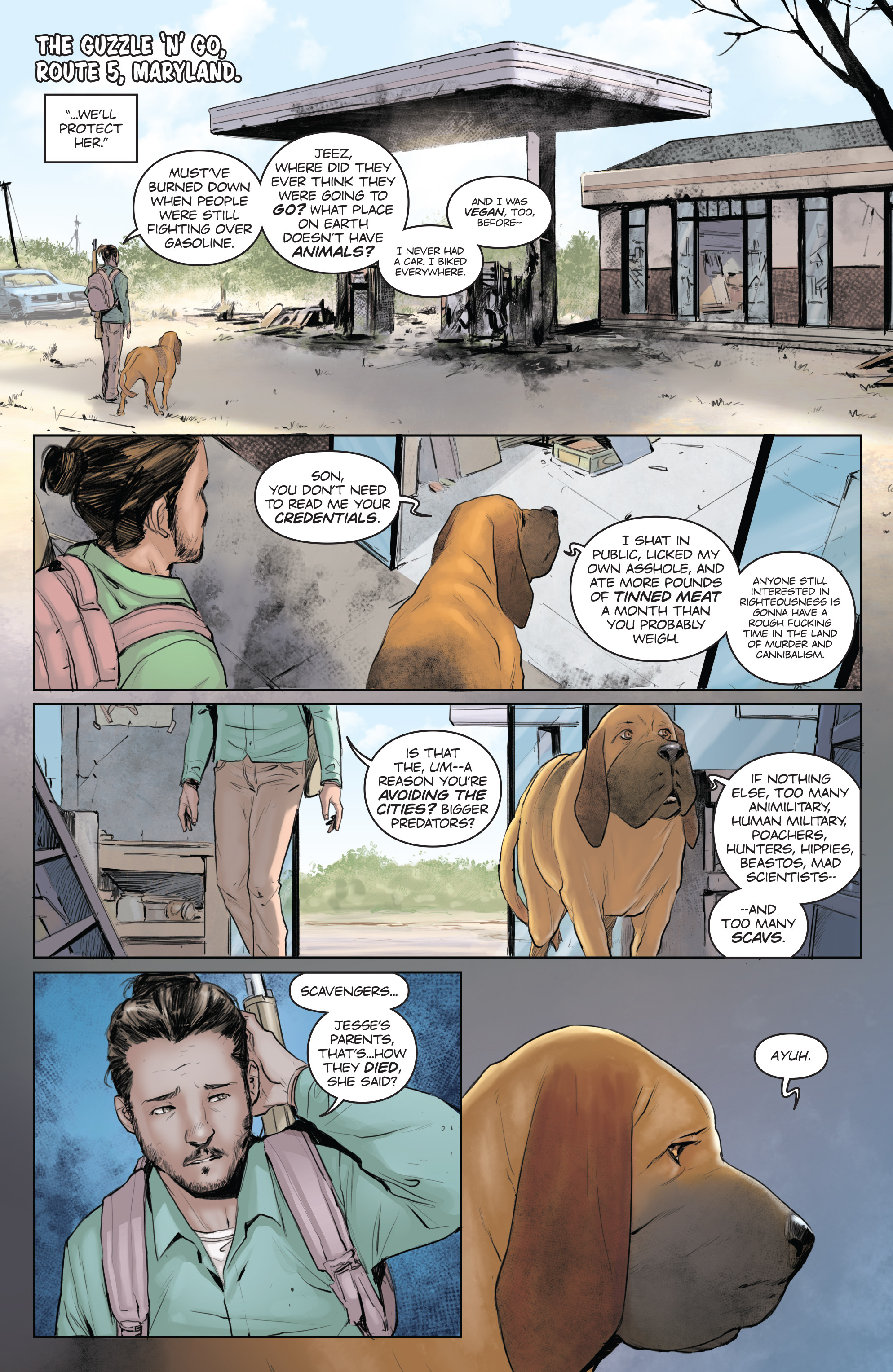 Read online Animosity comic -  Issue #5 - 11