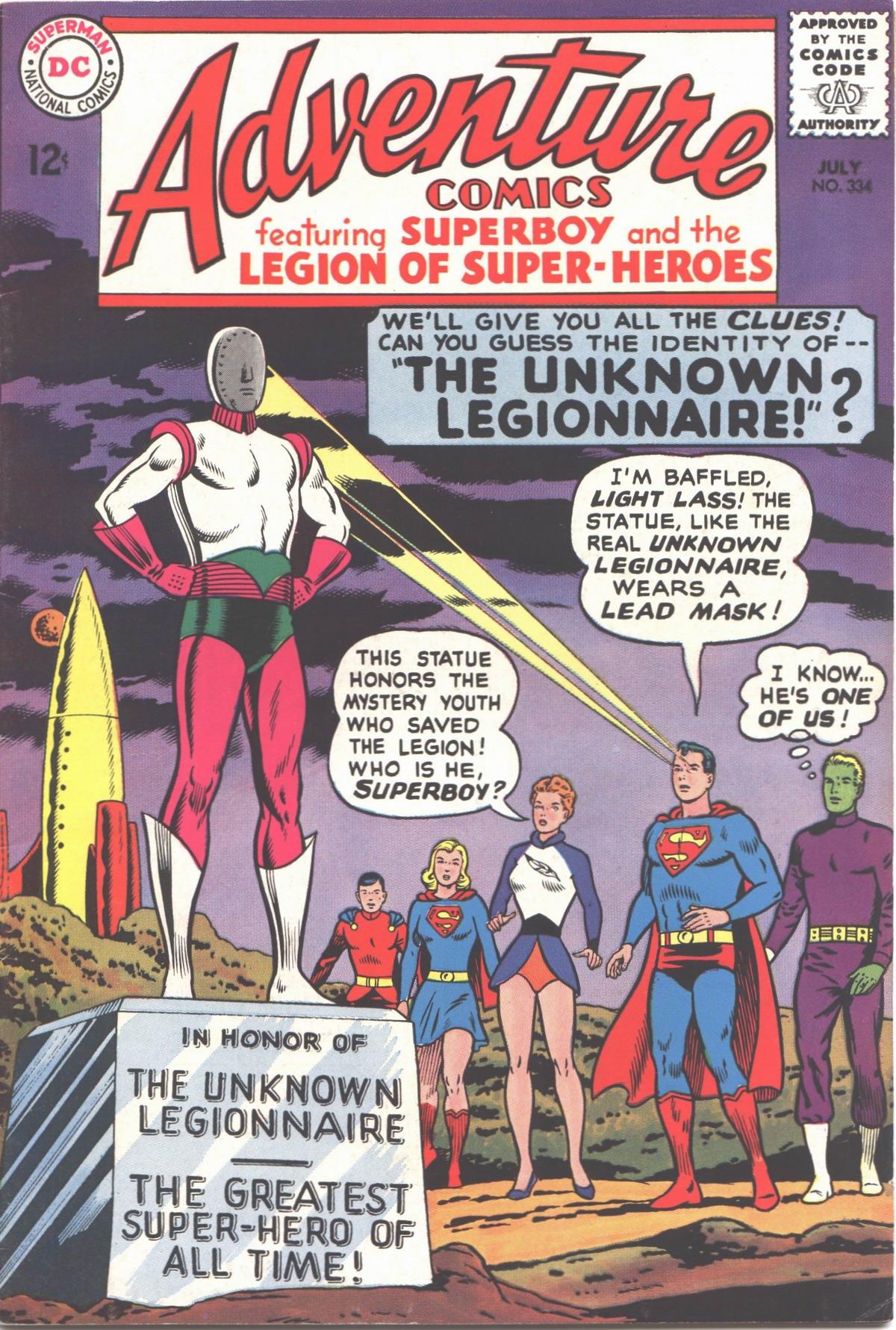Read online Adventure Comics (1938) comic -  Issue #334 - 1