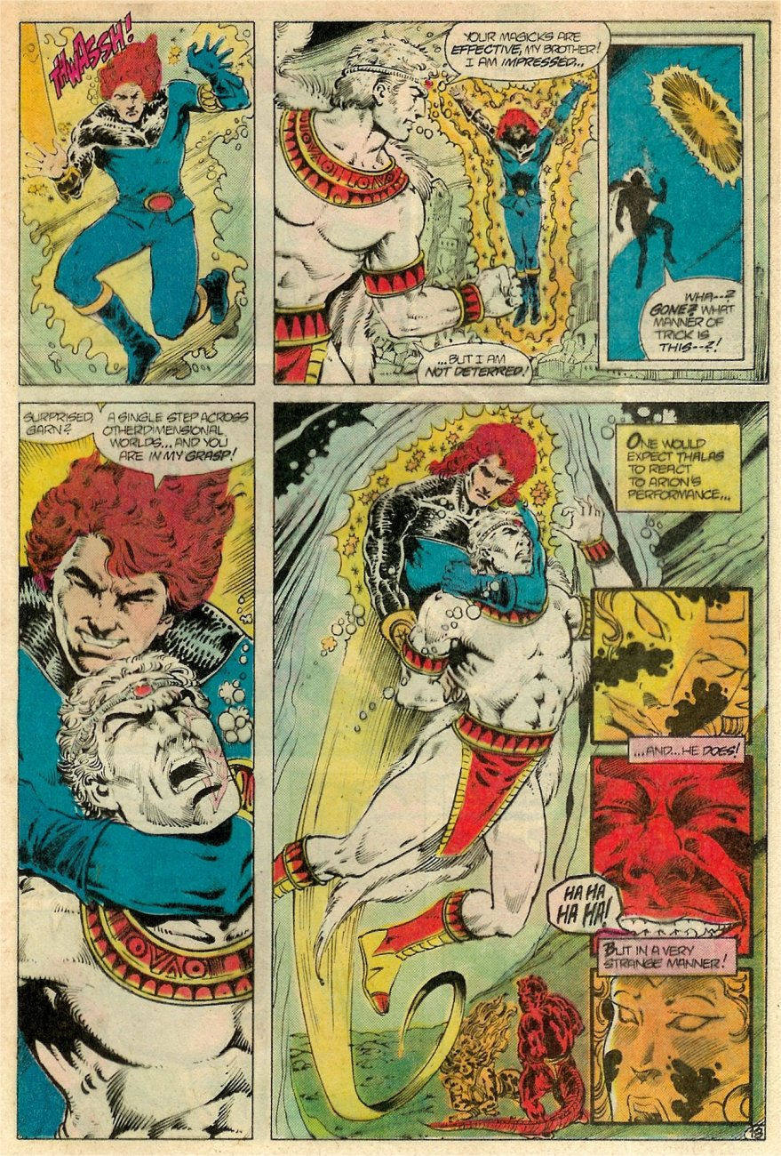 Read online Arion, Lord of Atlantis comic -  Issue #19 - 19