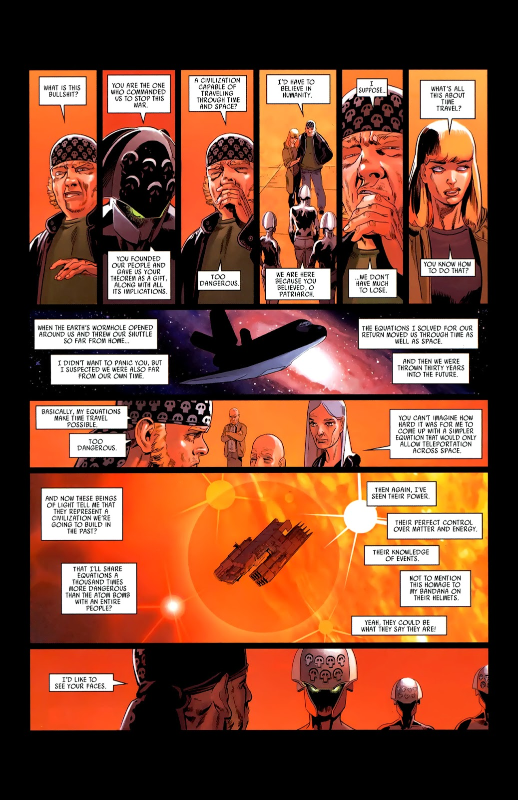 Read online Universal War One: Revelations comic -  Issue #3 - 47