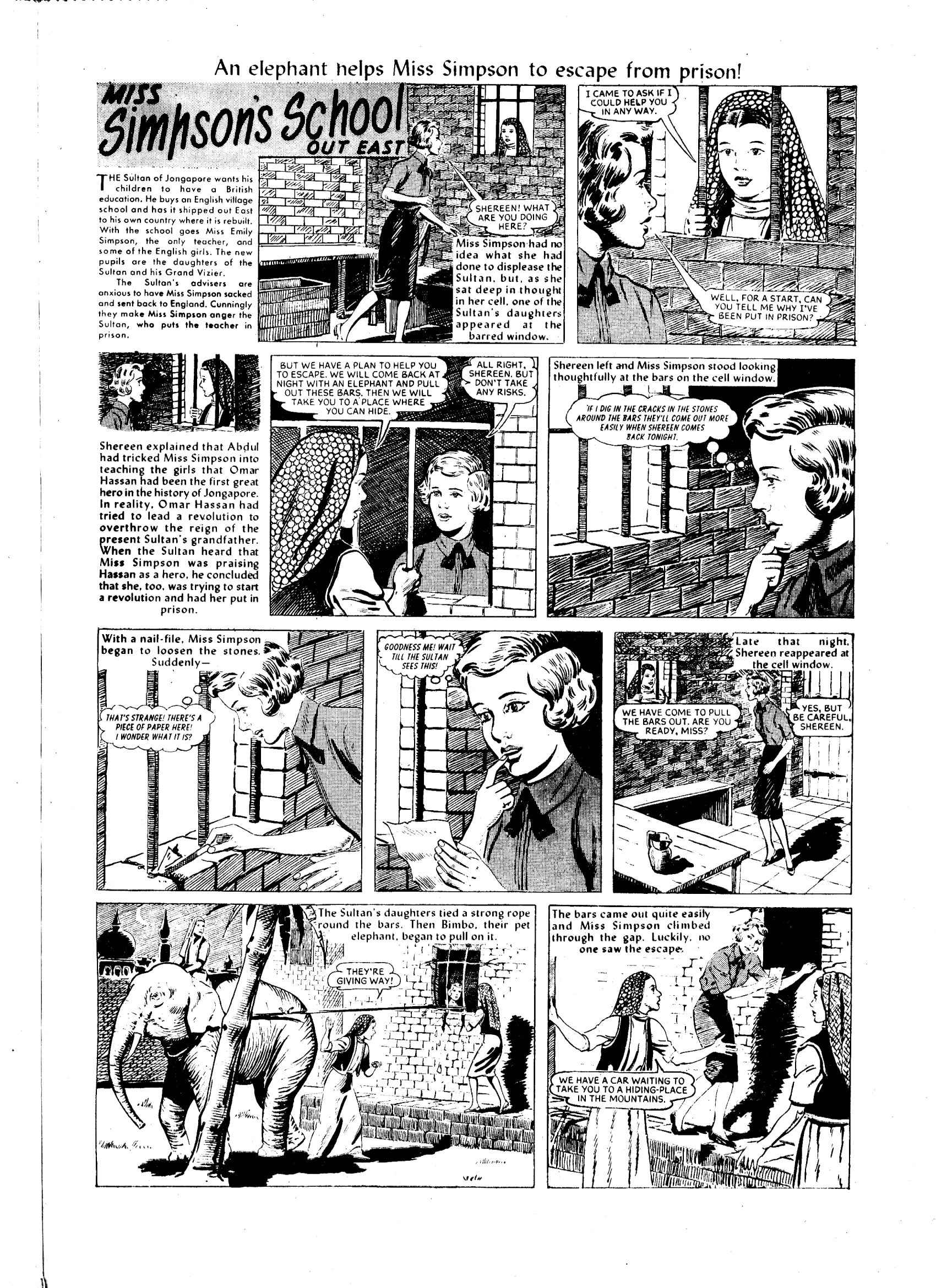 Read online Judy comic -  Issue #55 - 21