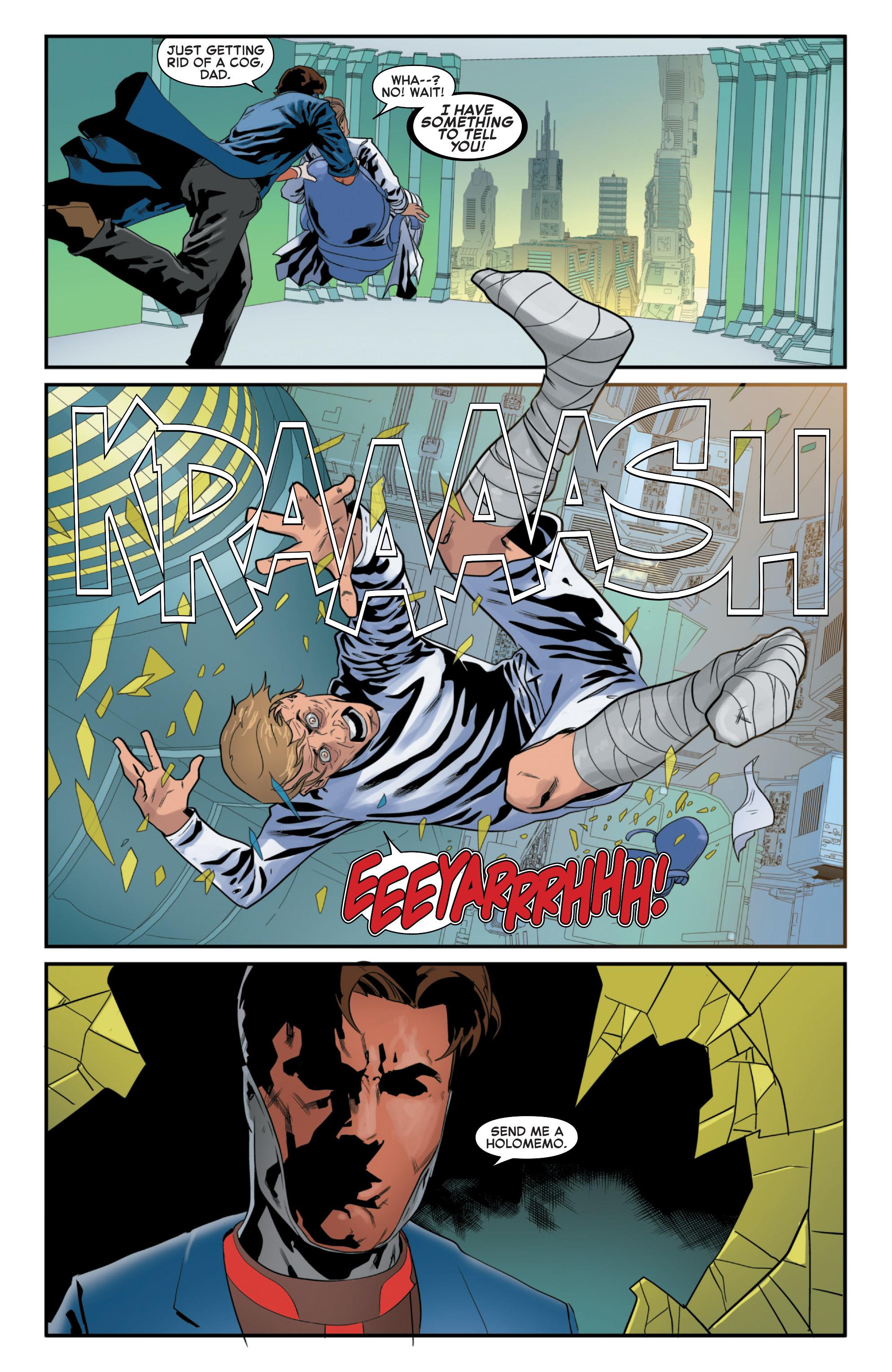 Read online Secret Wars 2099 comic -  Issue #5 - 11