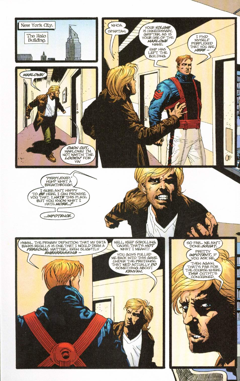 Wildcats (1999) Issue #8 #9 - English 3