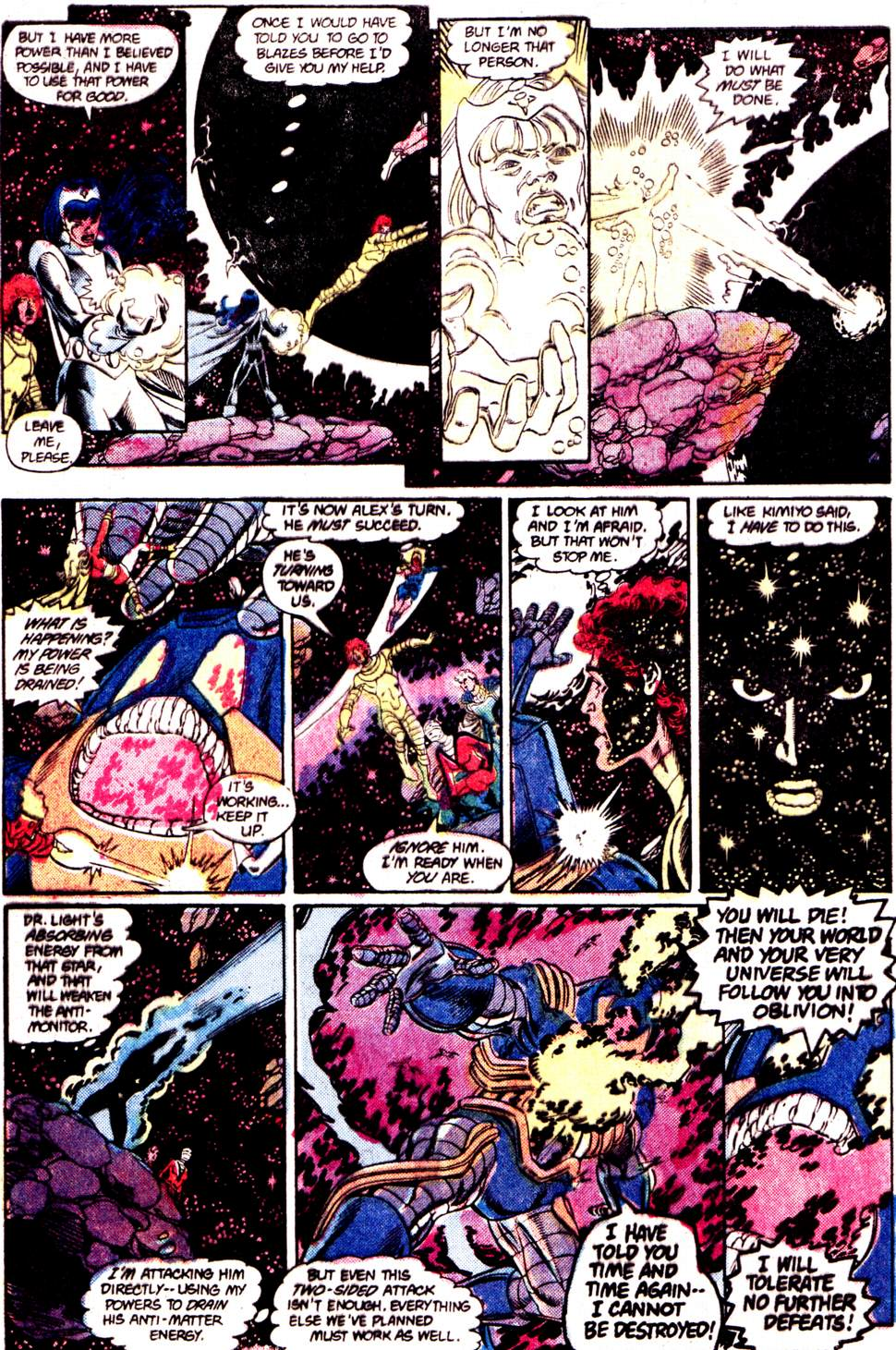 Crisis on Infinite Earths (1985) 12 Page 25