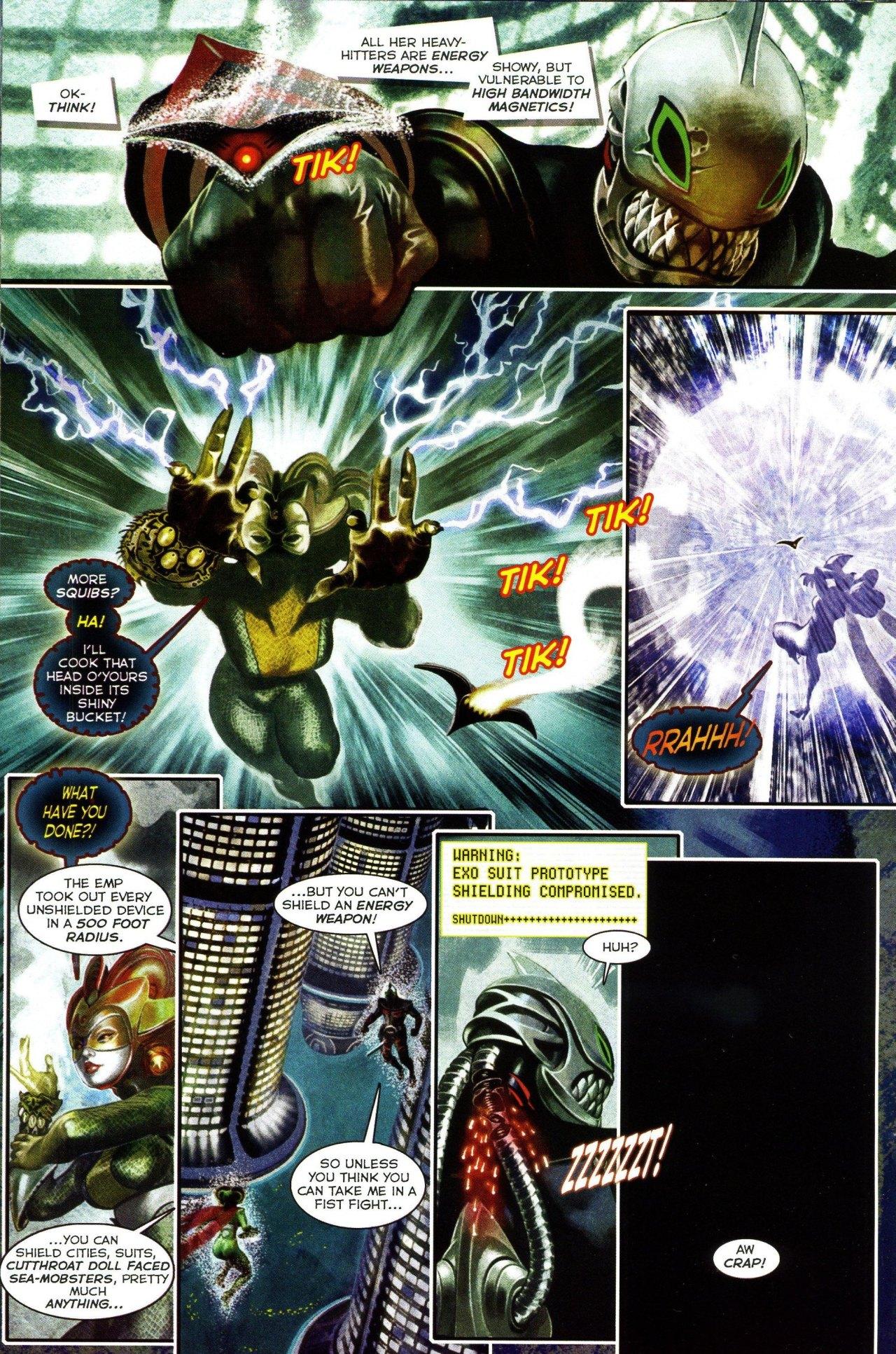 Read online Shark-Man comic -  Issue #3 - 12